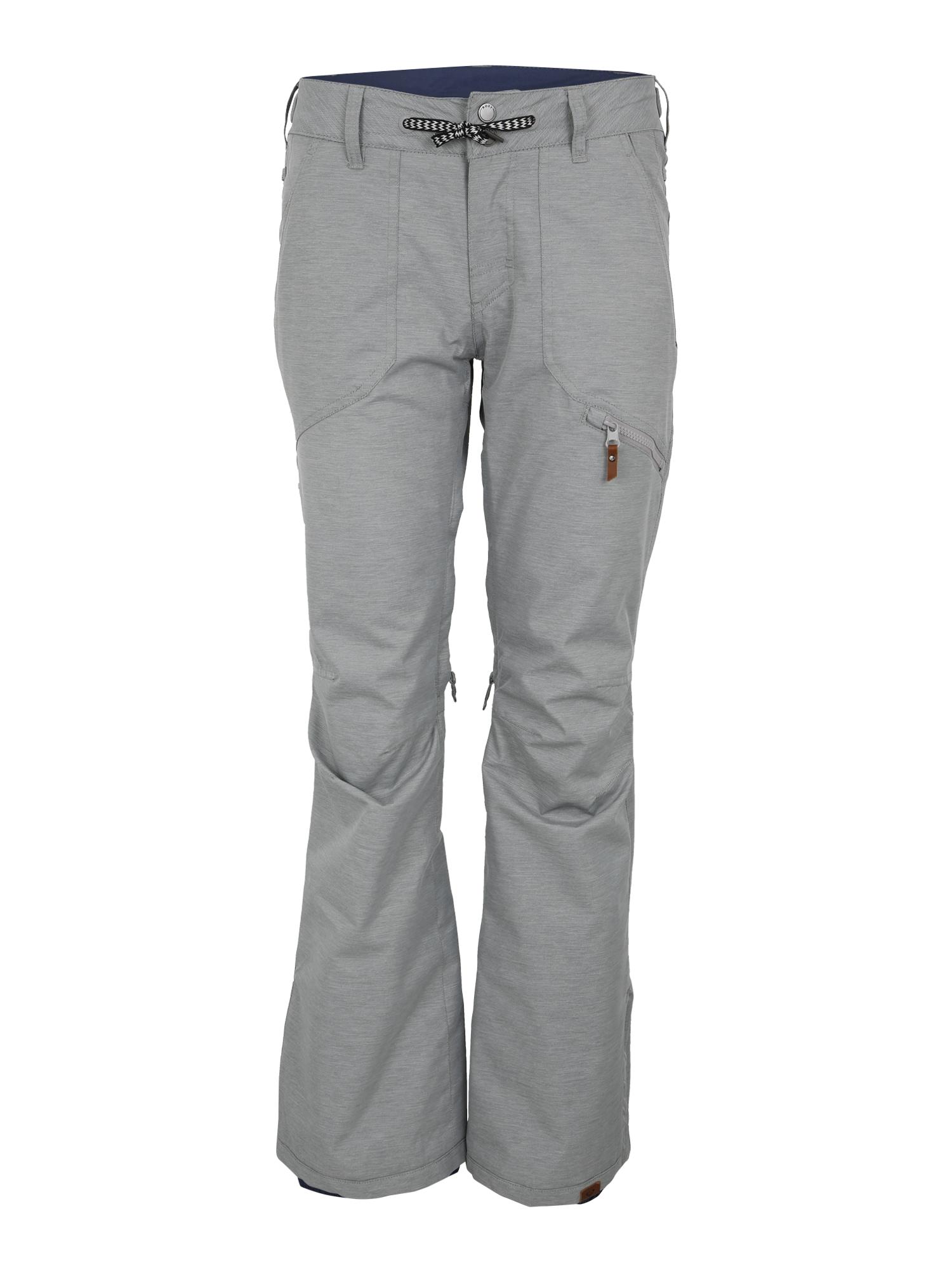 Outdoorové kalhoty NADIA rezavě hnědá šedá černá ROXY