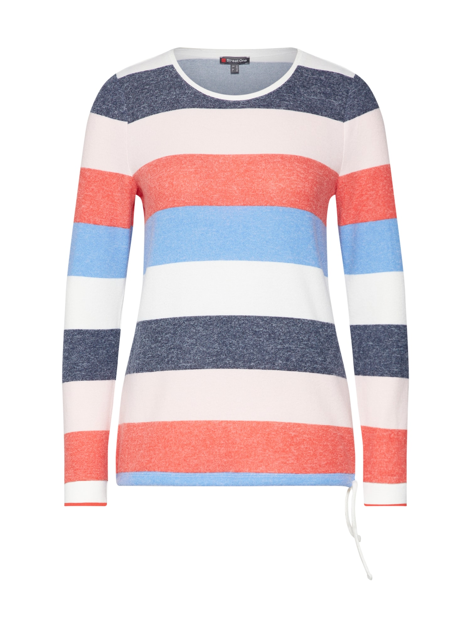 Tričko Loralie tmavě modrá mix barev STREET ONE