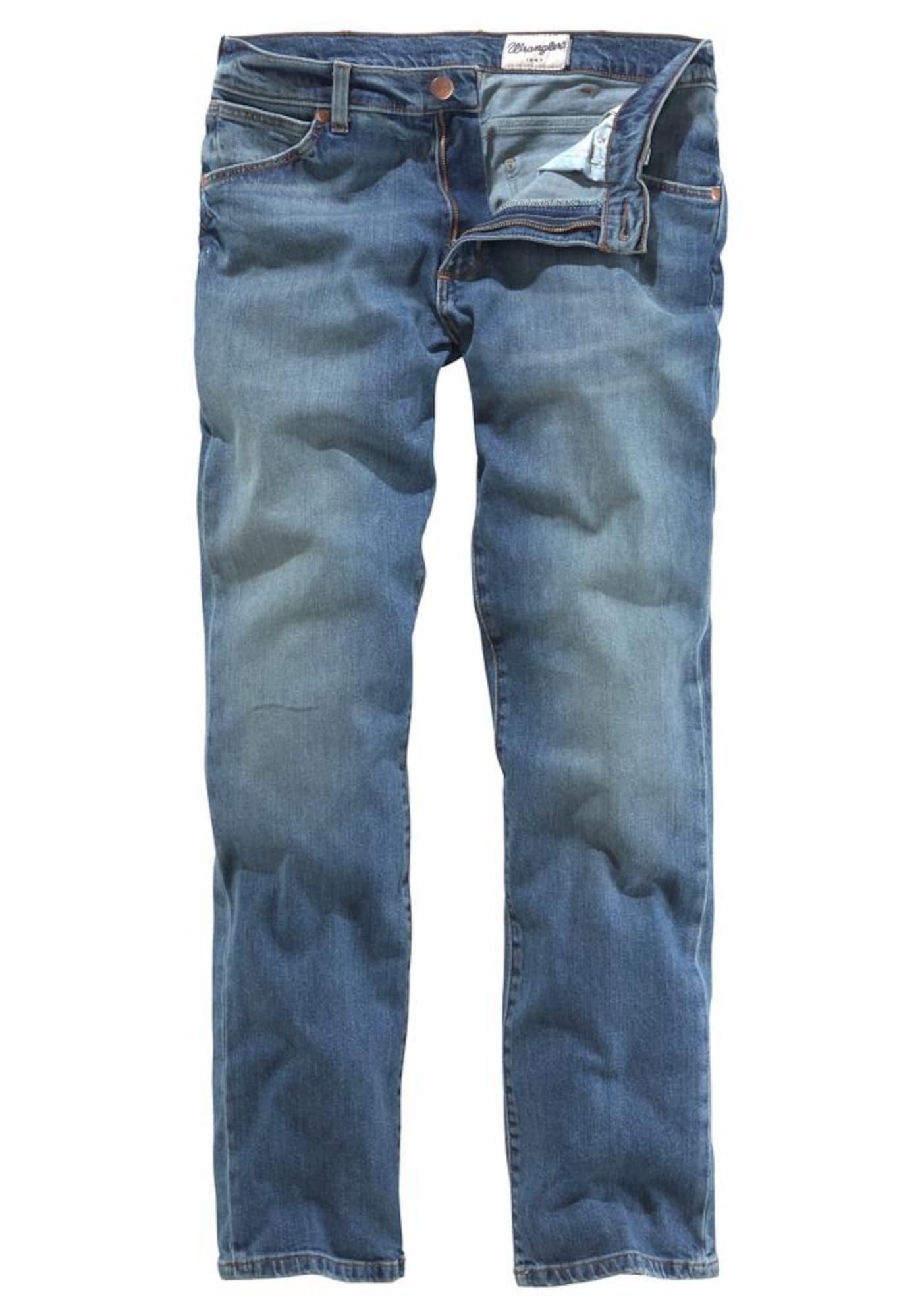 WRANGLER Heren Jeans Greensboro blauw