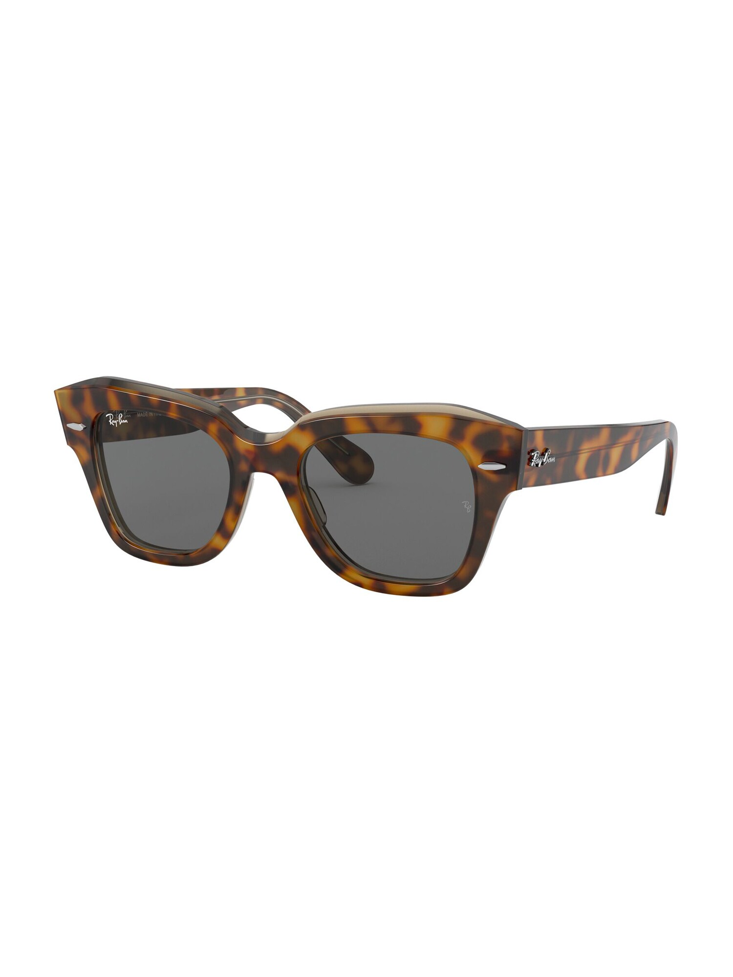 Ray-Ban Sluneční brýle  černá / hnědá