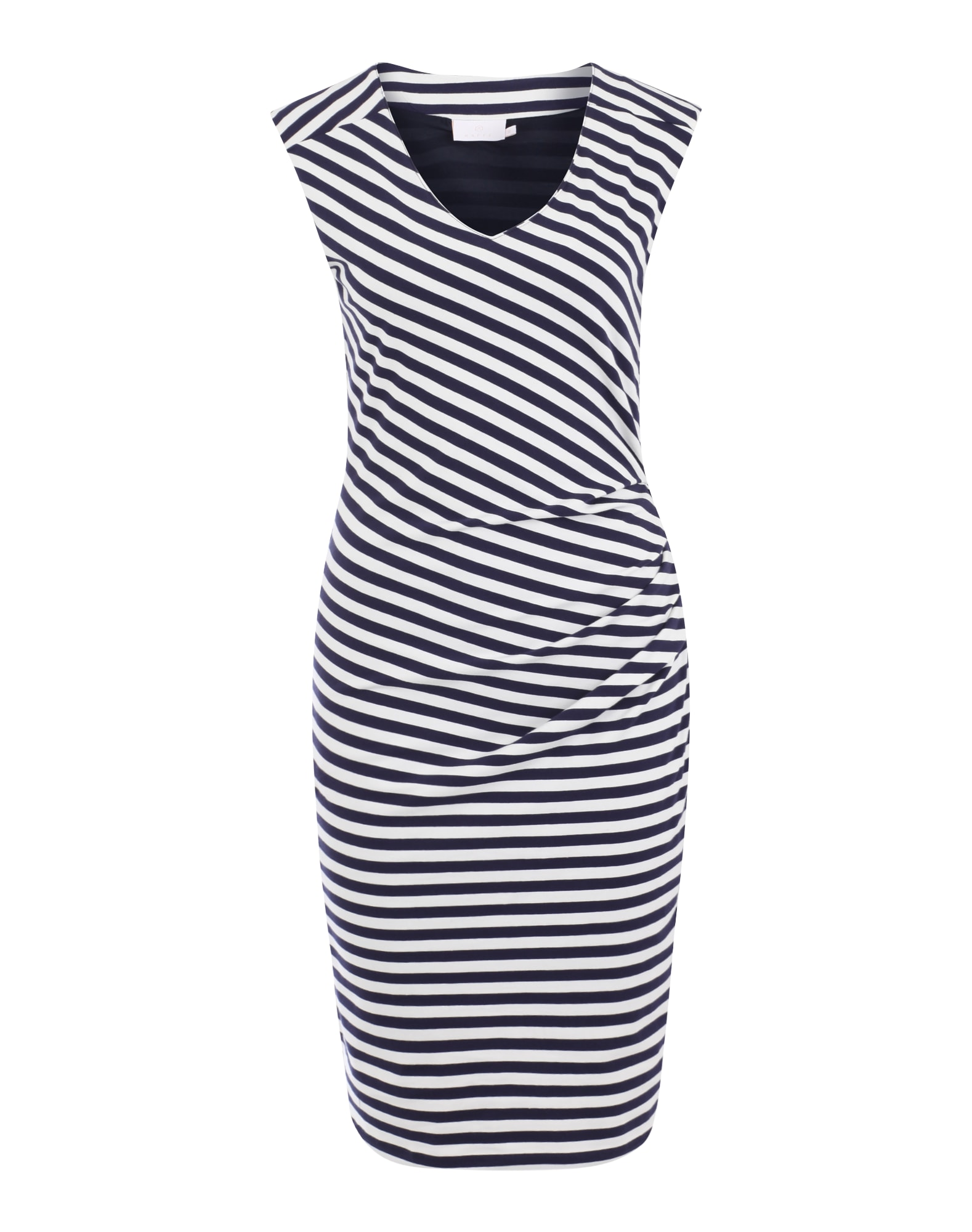 Letní šaty Nanna marine modrá bílá Kaffe