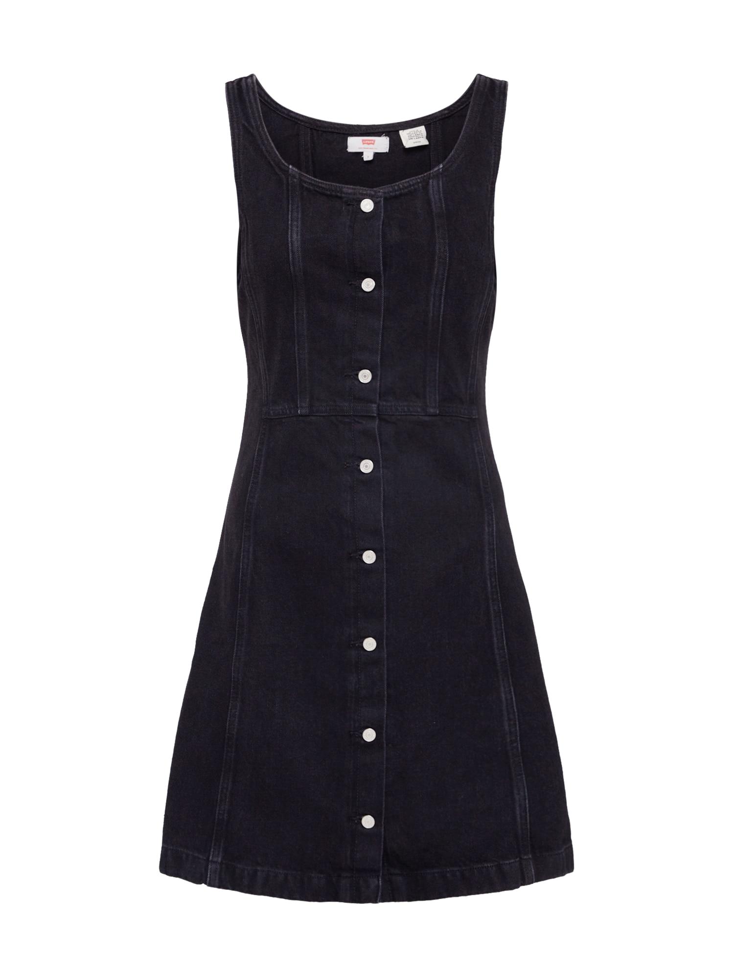 LEVI'S Šaty 'SIENNA DRESS'  čierna
