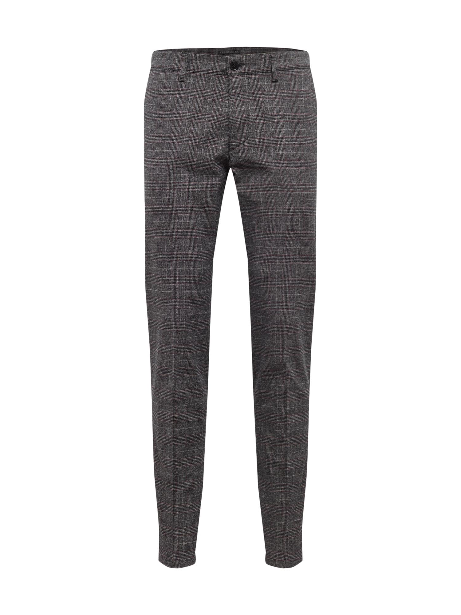 Chino kalhoty MAD tmavě šedá DRYKORN