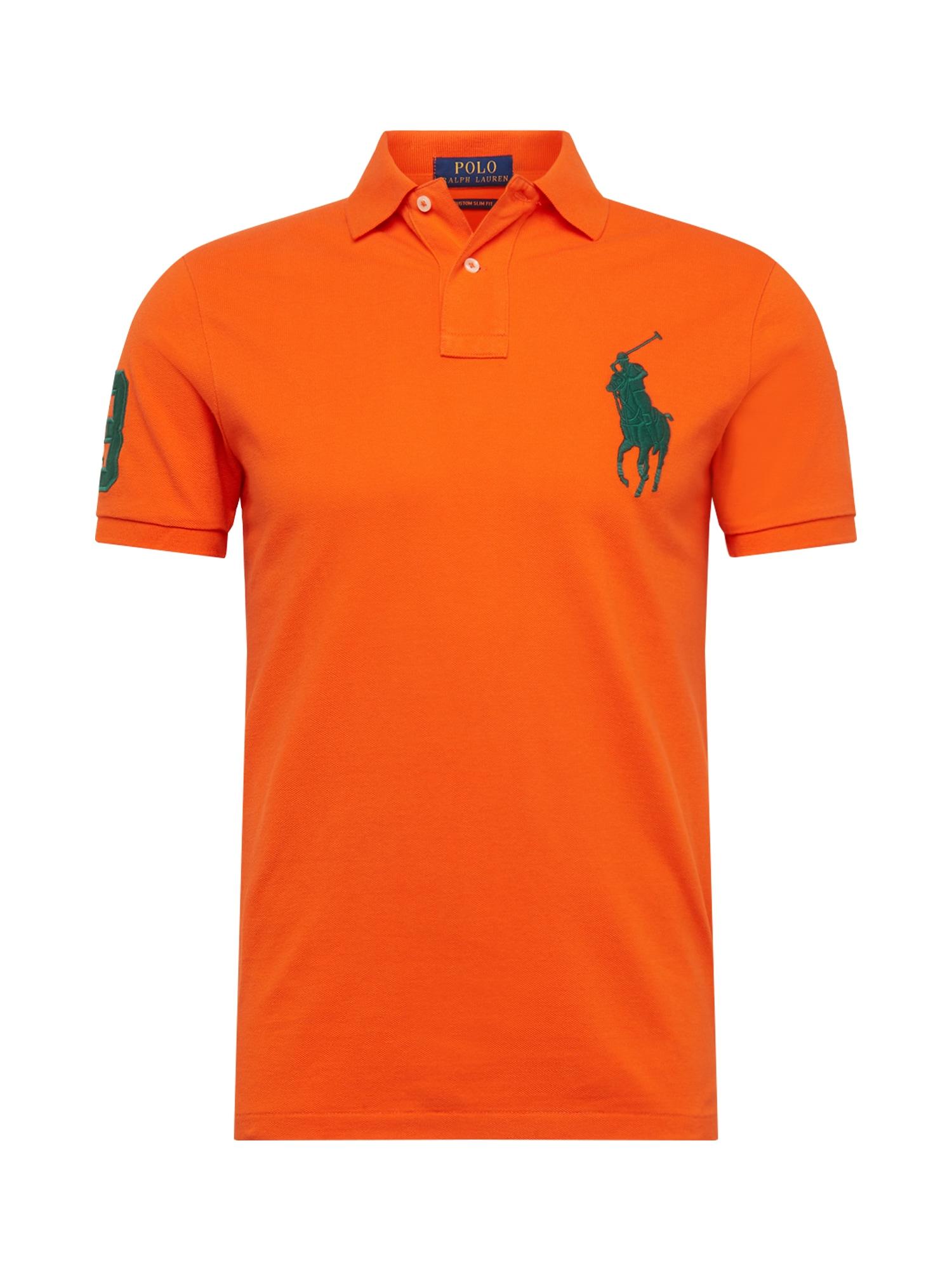Tričko SSKCBPCMS M1-SHORT SLEEVE-KNIT oranžová POLO RALPH LAUREN