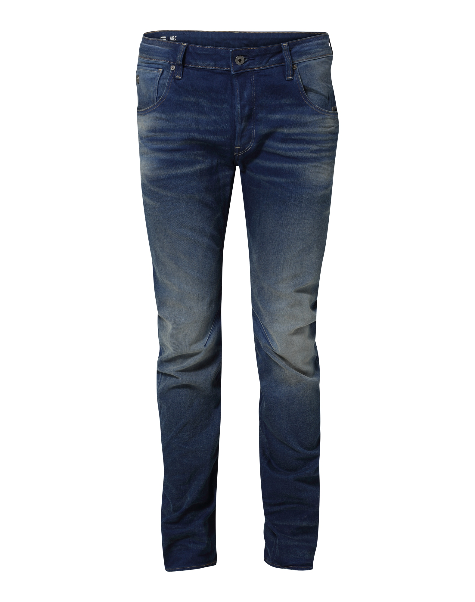 G-STAR RAW Heren Jeans Arc 3D blauw