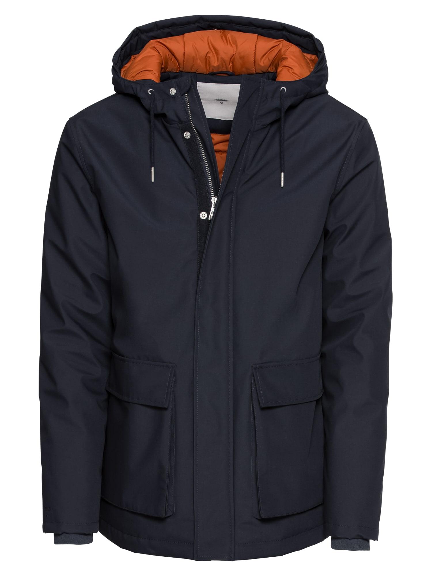 Zimní parka Carlow 3.0 Jacket námořnická modř oranžová Minimum