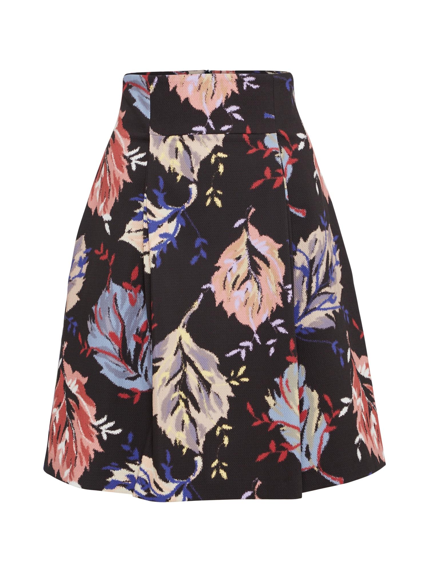 Sukně PALATINO růžová černá MAX&Co.