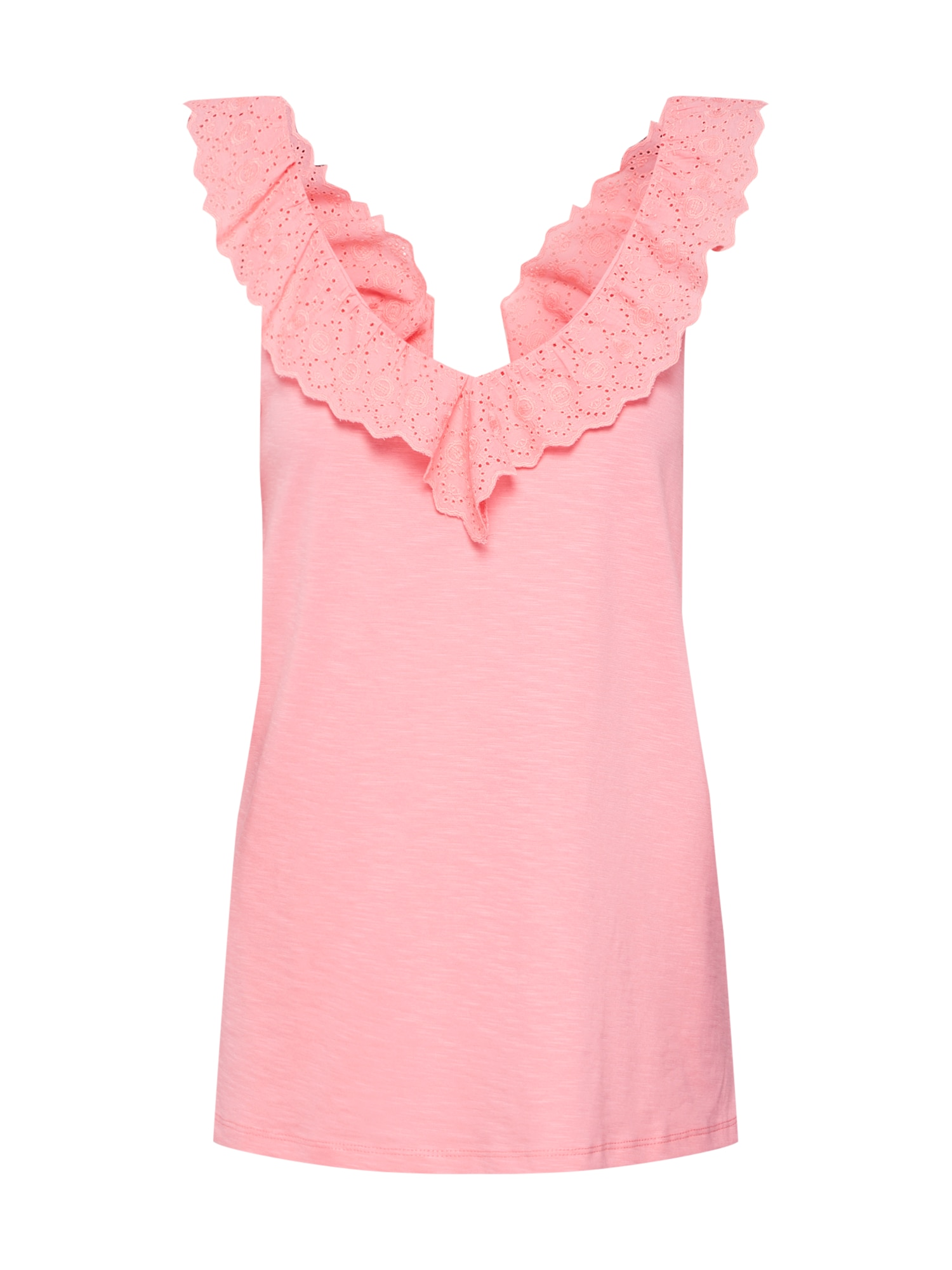 Top Ruffle pink EDC BY ESPRIT
