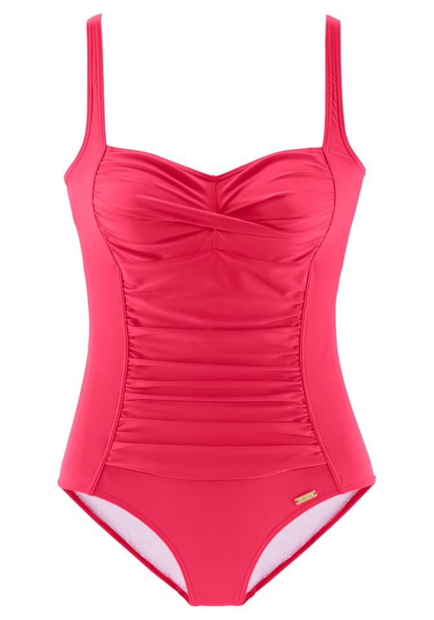 Stahovací plavky pink LASCANA