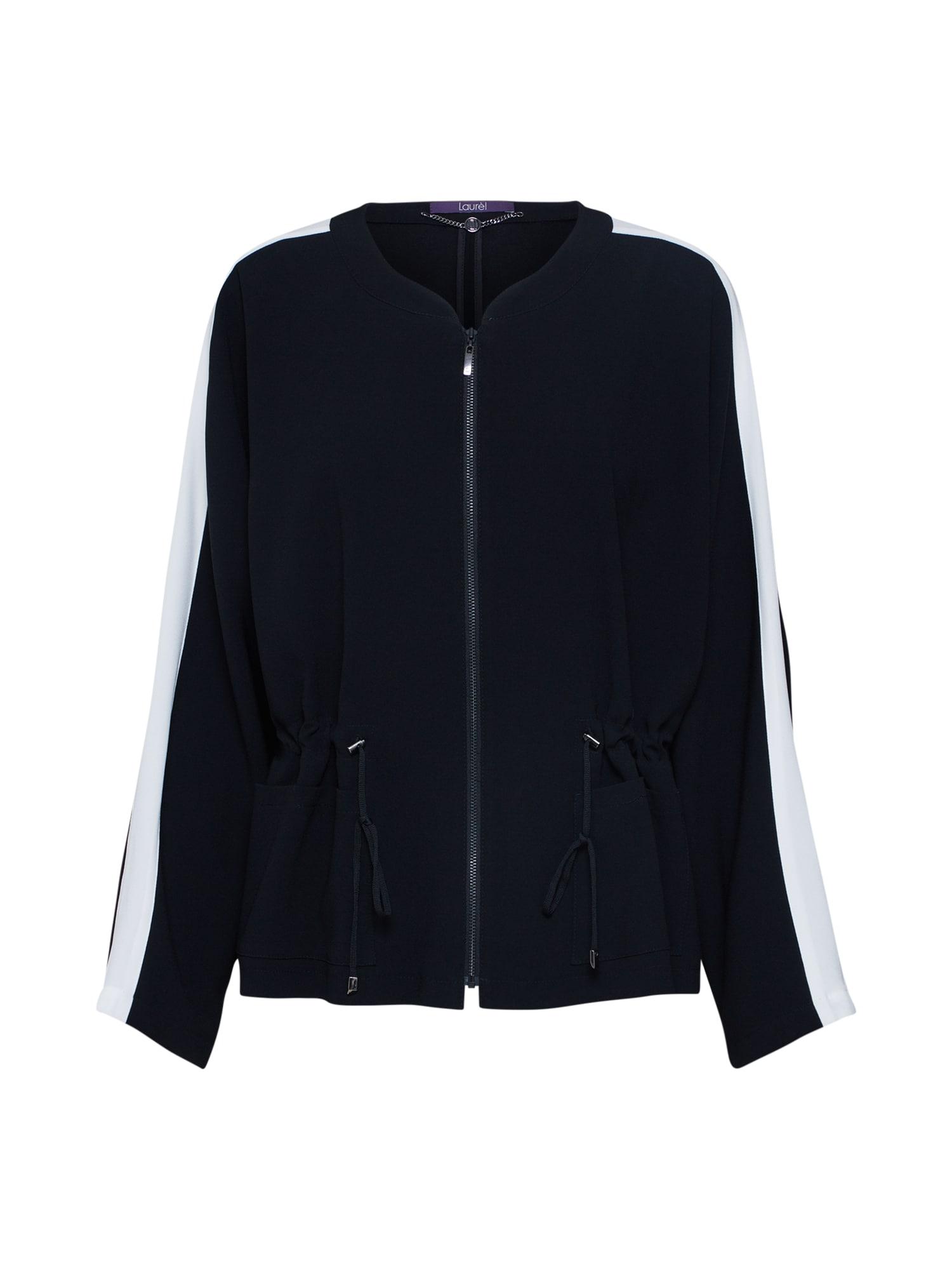 Mikina s kapucí černá LAUREL