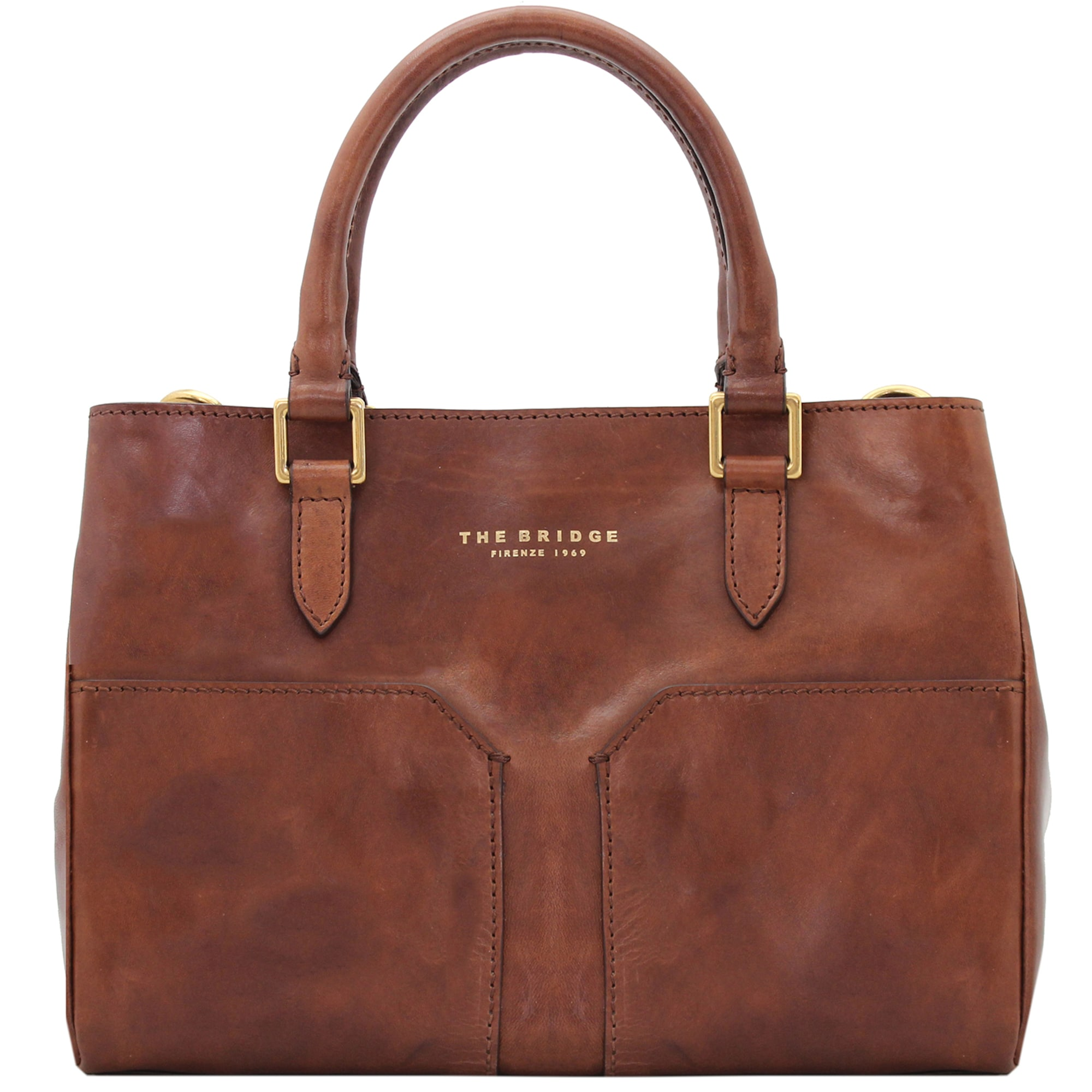 Bureau Mini Handtasche Leder 30 cm