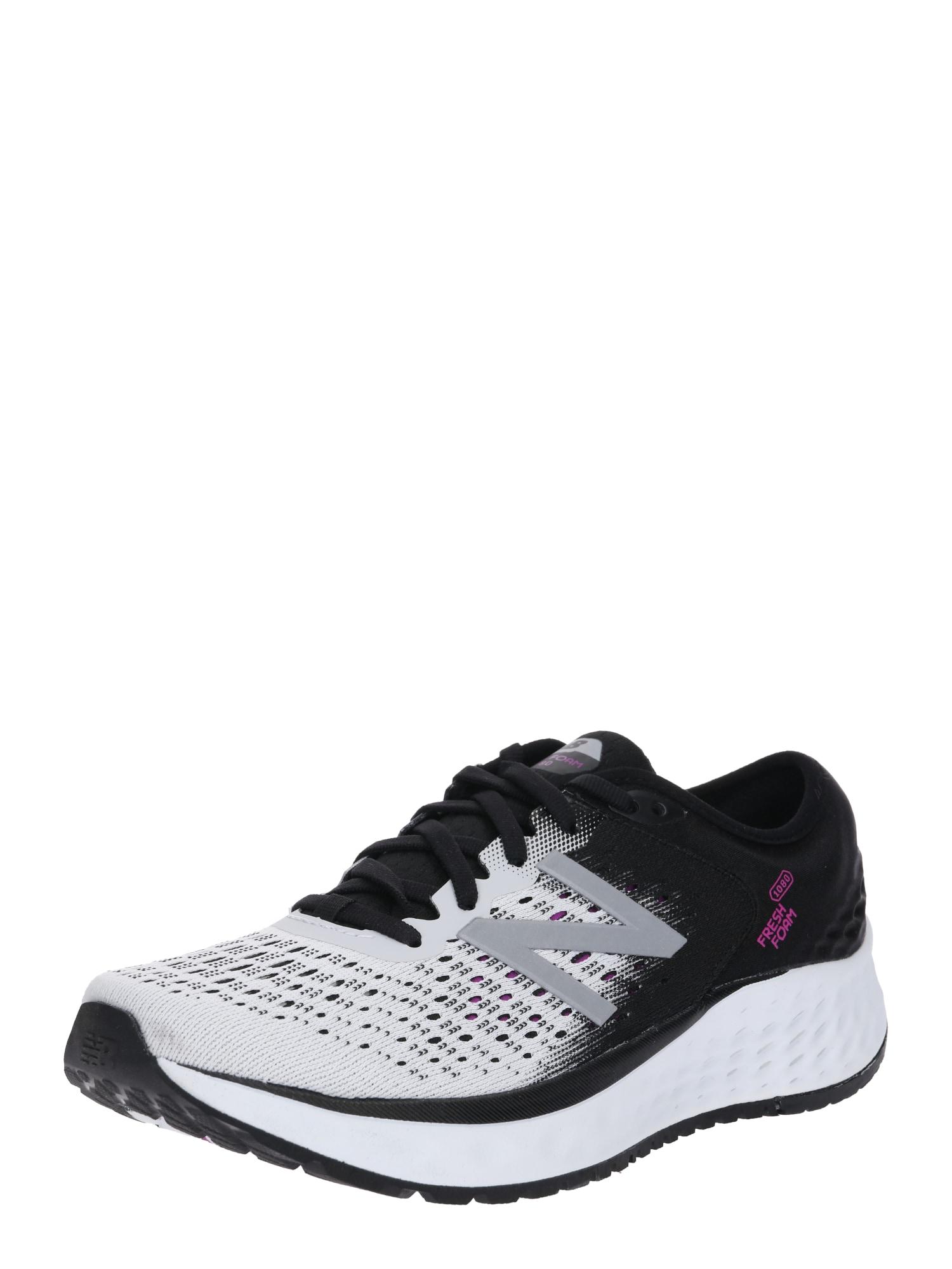 Běžecká obuv světle šedá fialová černá New Balance