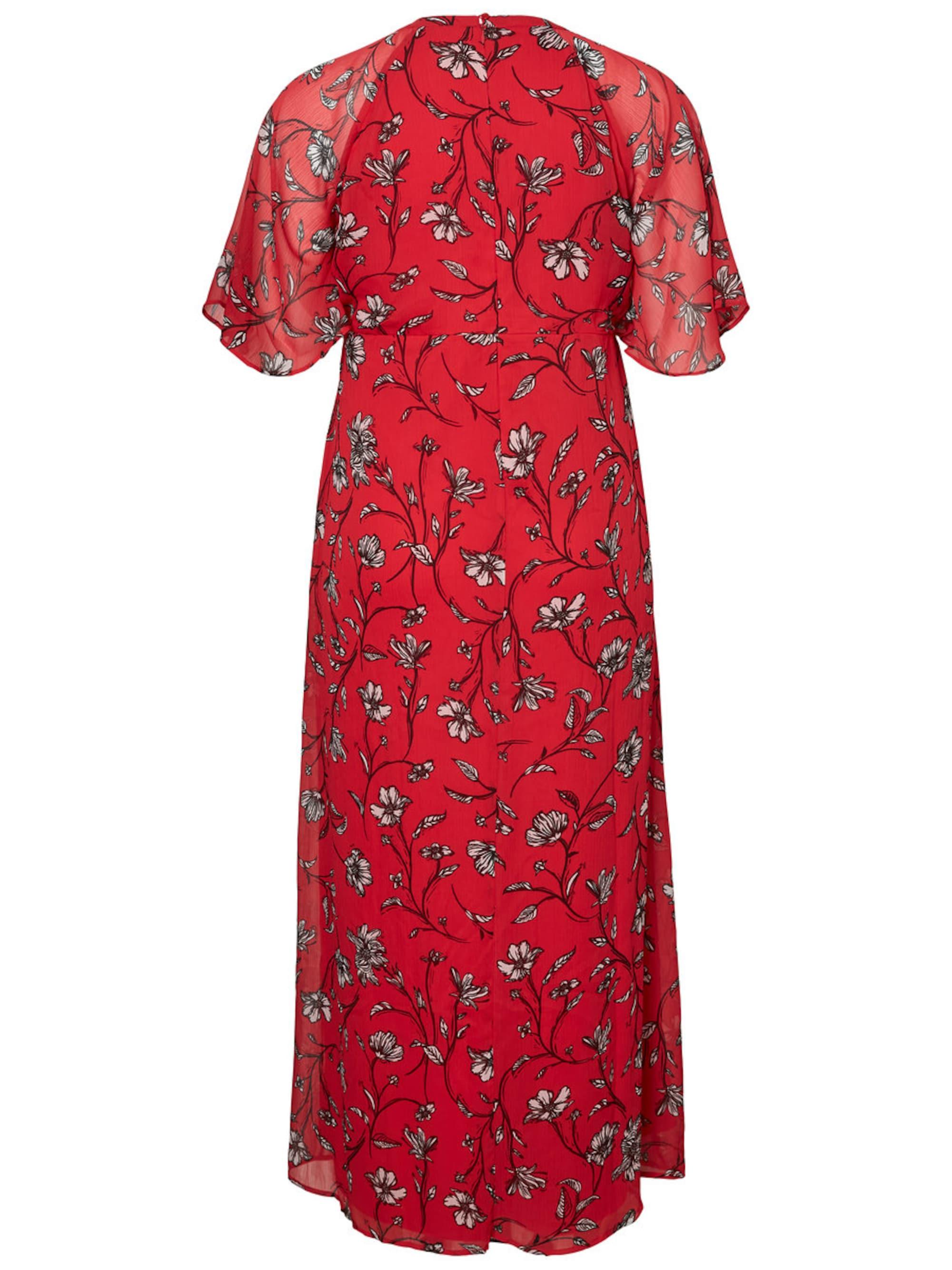 Junarose Sukienka  czerwony