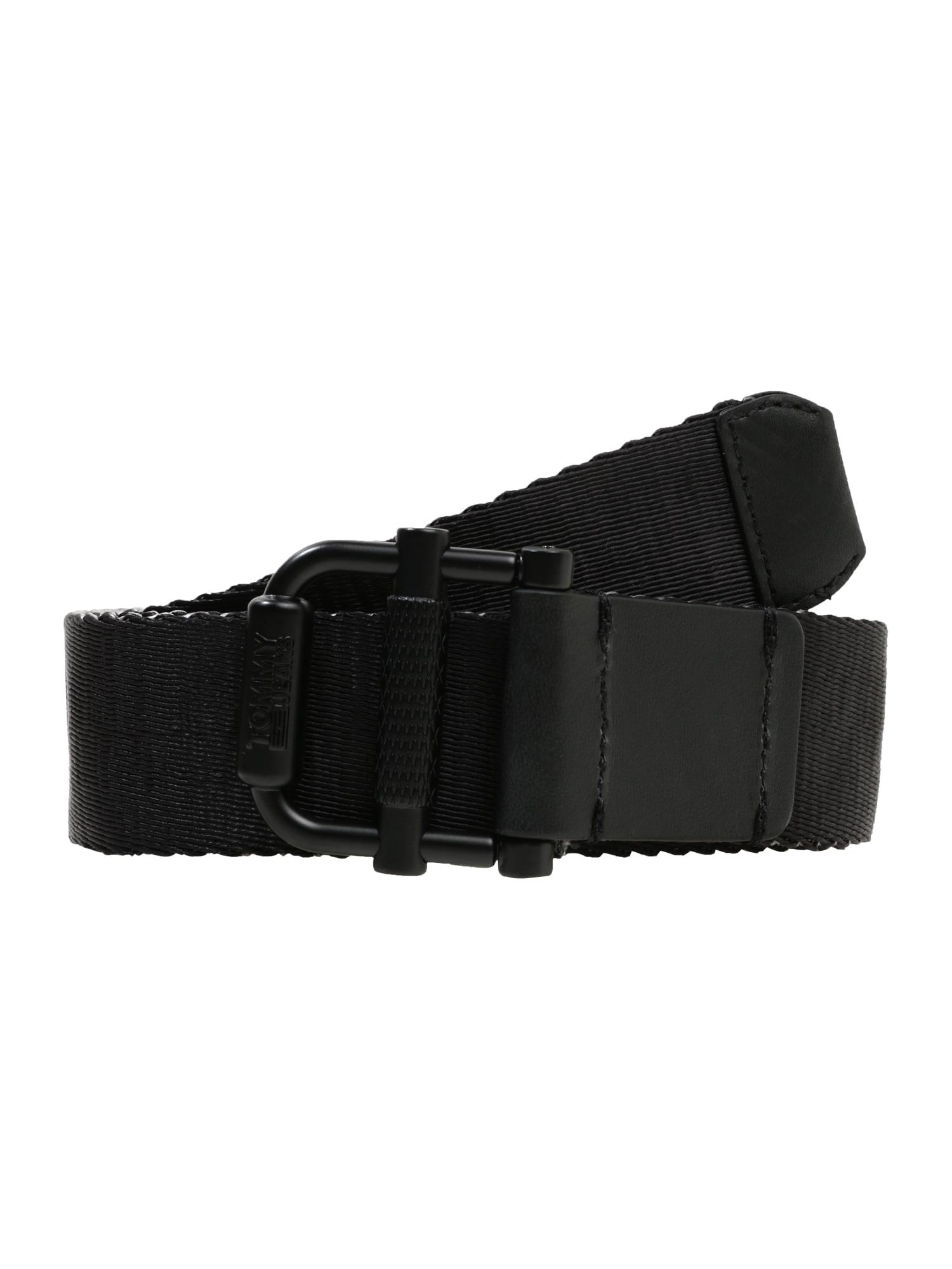 Opasek TJM ROLLER REV WEBBING BELT 3.5 černá Tommy Jeans