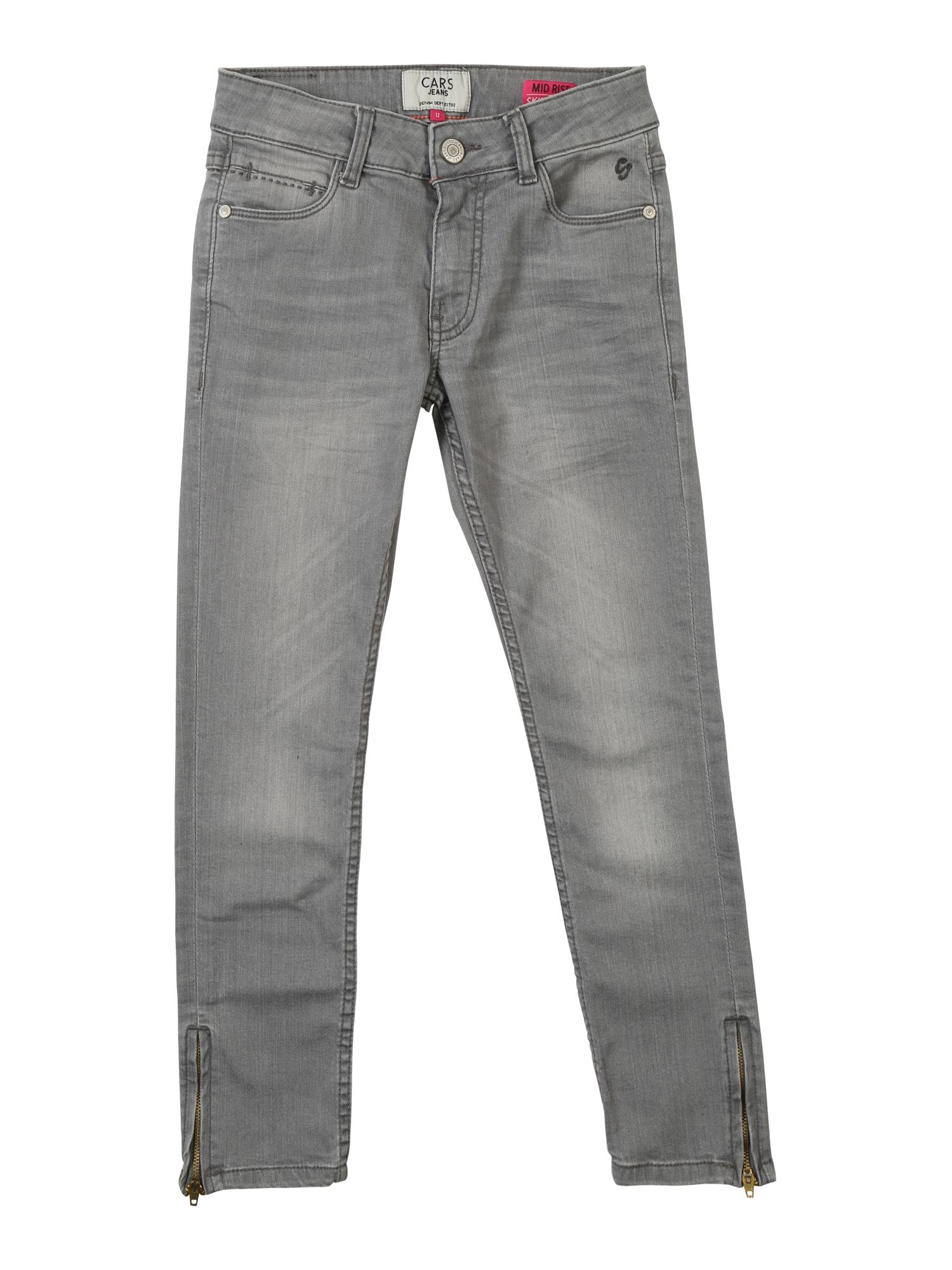 Džíny Pearl DEN.STW Used šedá džínová Cars Jeans