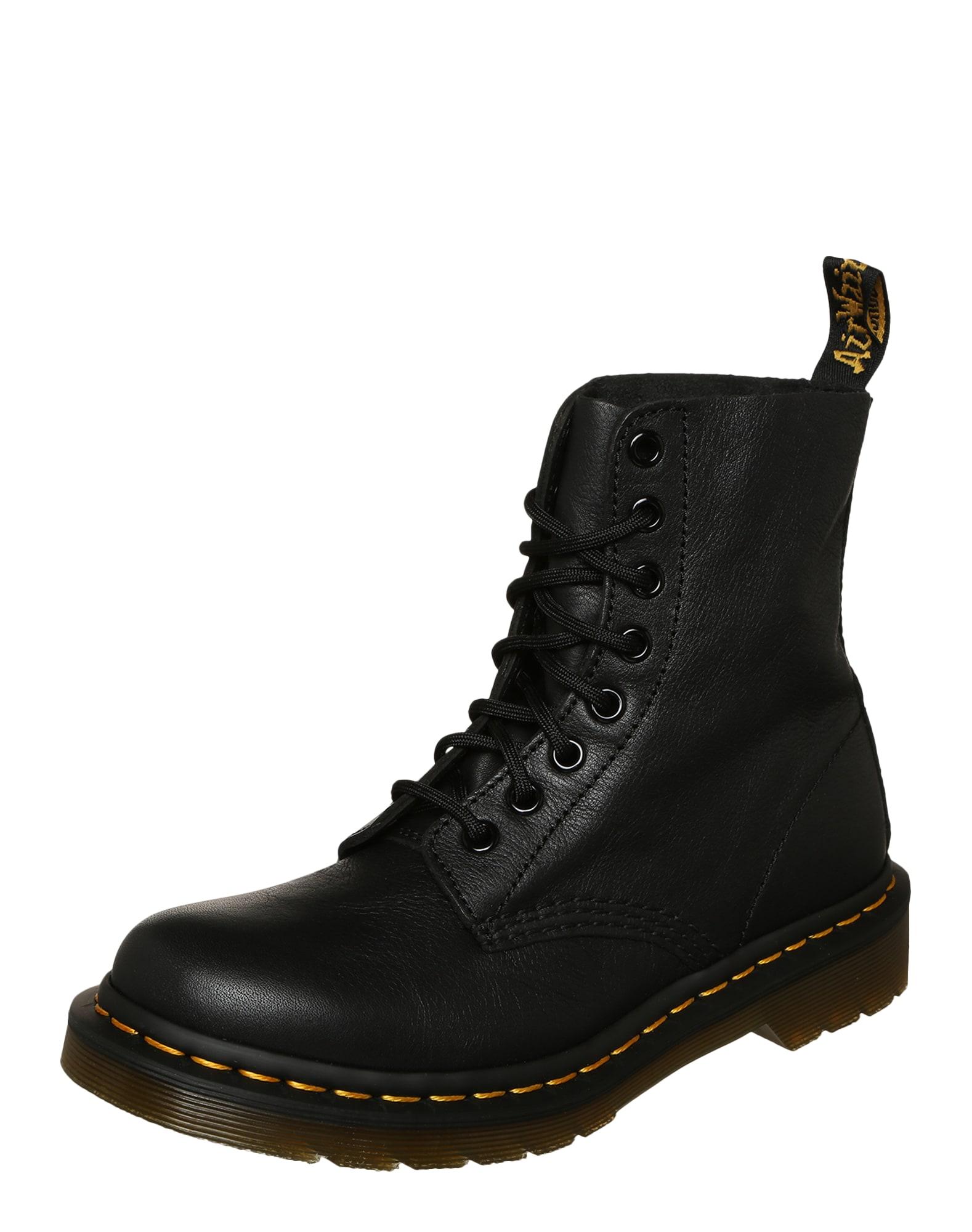 Šněrovací boty Pascal černá Dr. Martens