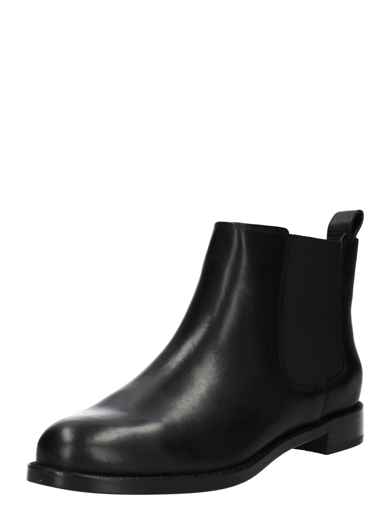 Chelsea boty HAANA-BOOTS-CASUAL černá Lauren Ralph Lauren