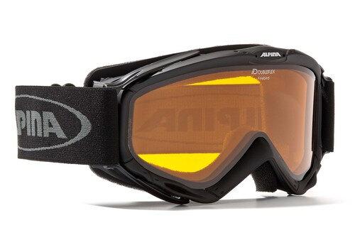 Skibrille schwarz, »SPICE«, Made in Germany