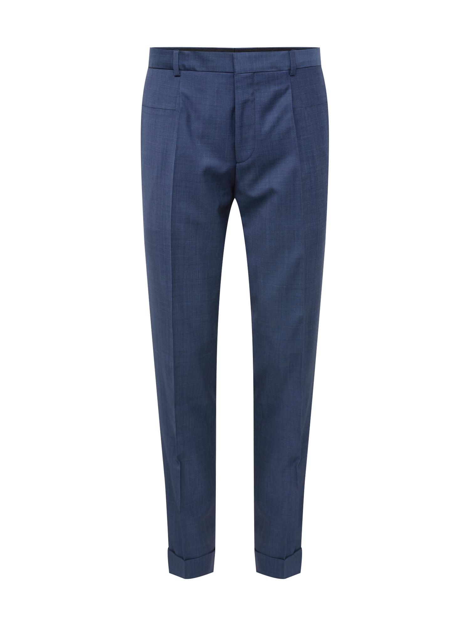 Kalhoty s puky Gabriel193F1 tmavě modrá HUGO