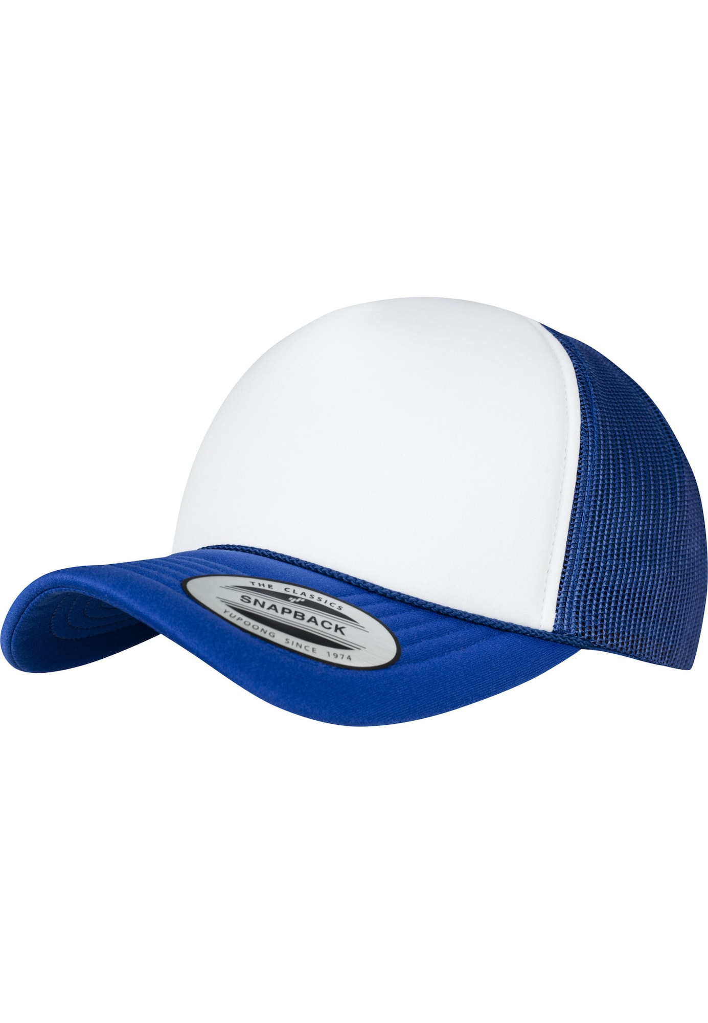Cap 'Foam Trucker Curved Visor' | Accessoires > Caps > Visors | Weiß | Flexfit
