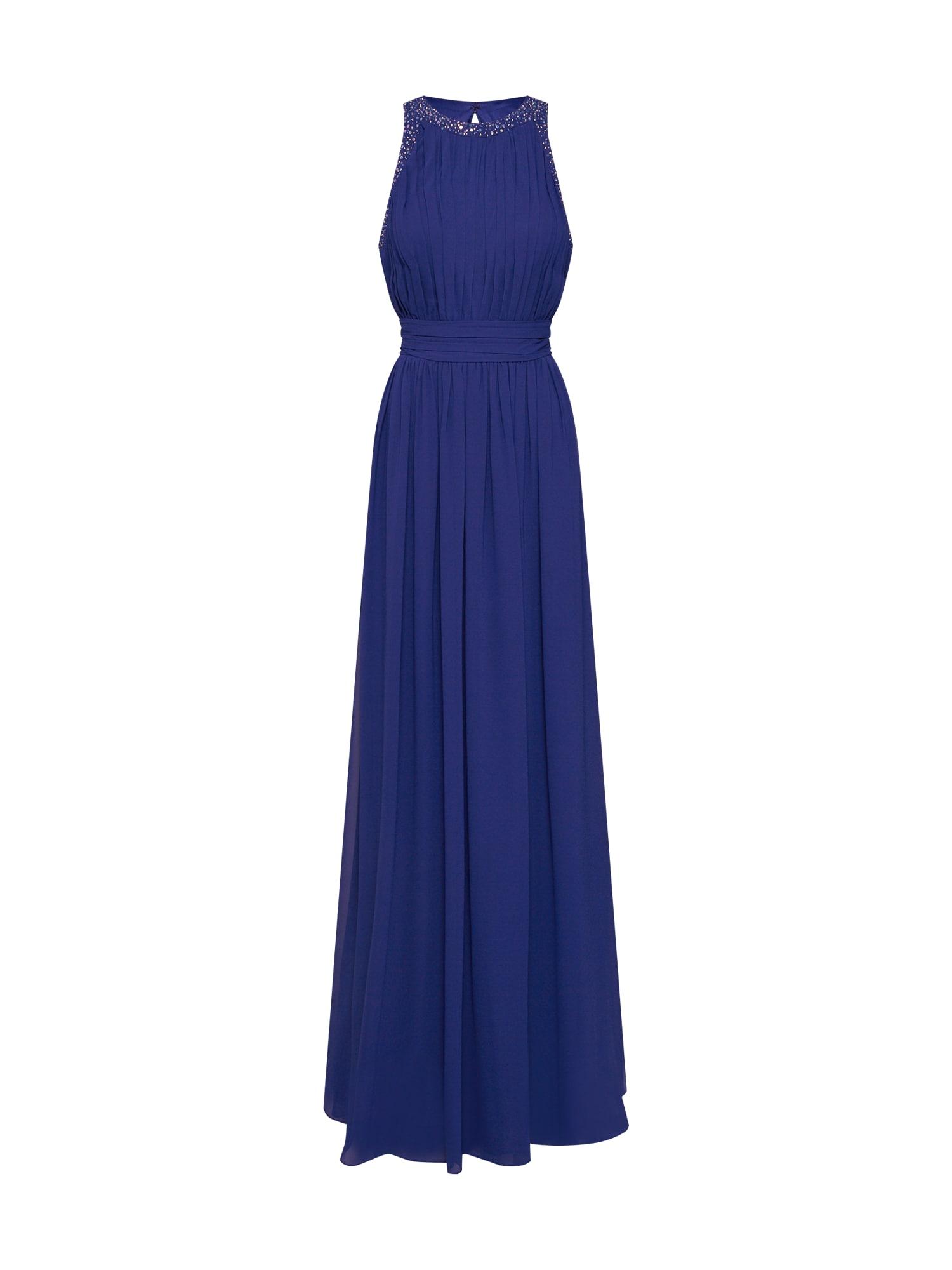 Společenské šaty long dress chiffon marine modrá STAR NIGHT