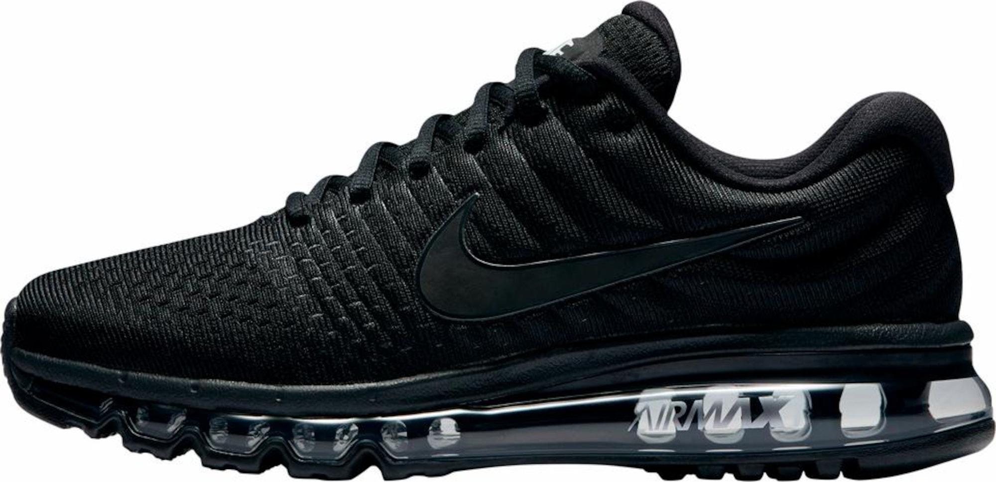 Nike Sportswear, Heren Sneakers laag 'Air Max 2017', zwart