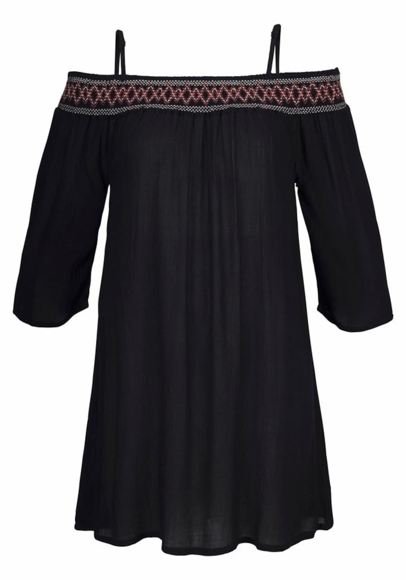 S.Oliver Plážové šaty  černá