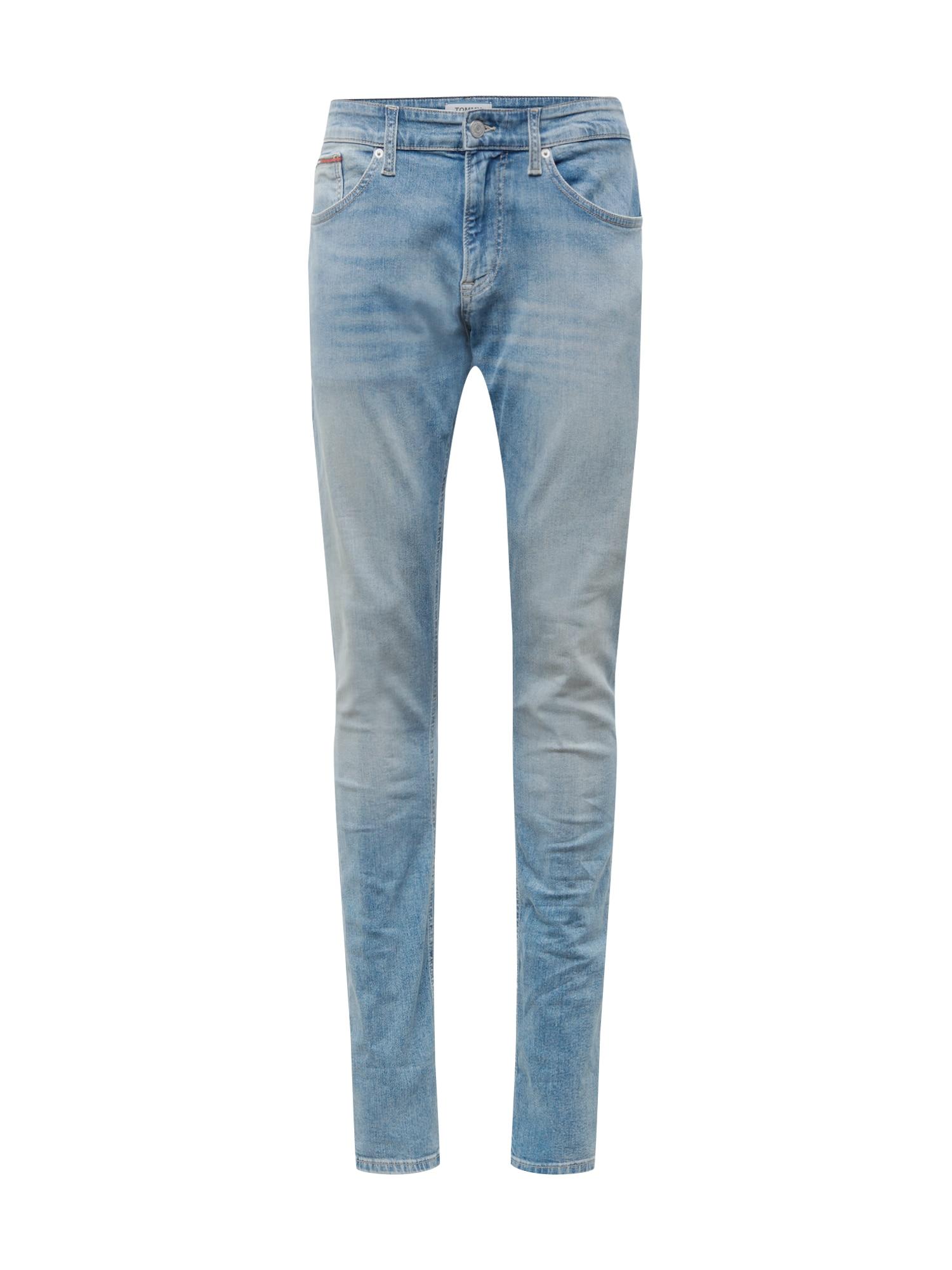 Džíny STEVE FRLT modrá džínovina Tommy Jeans
