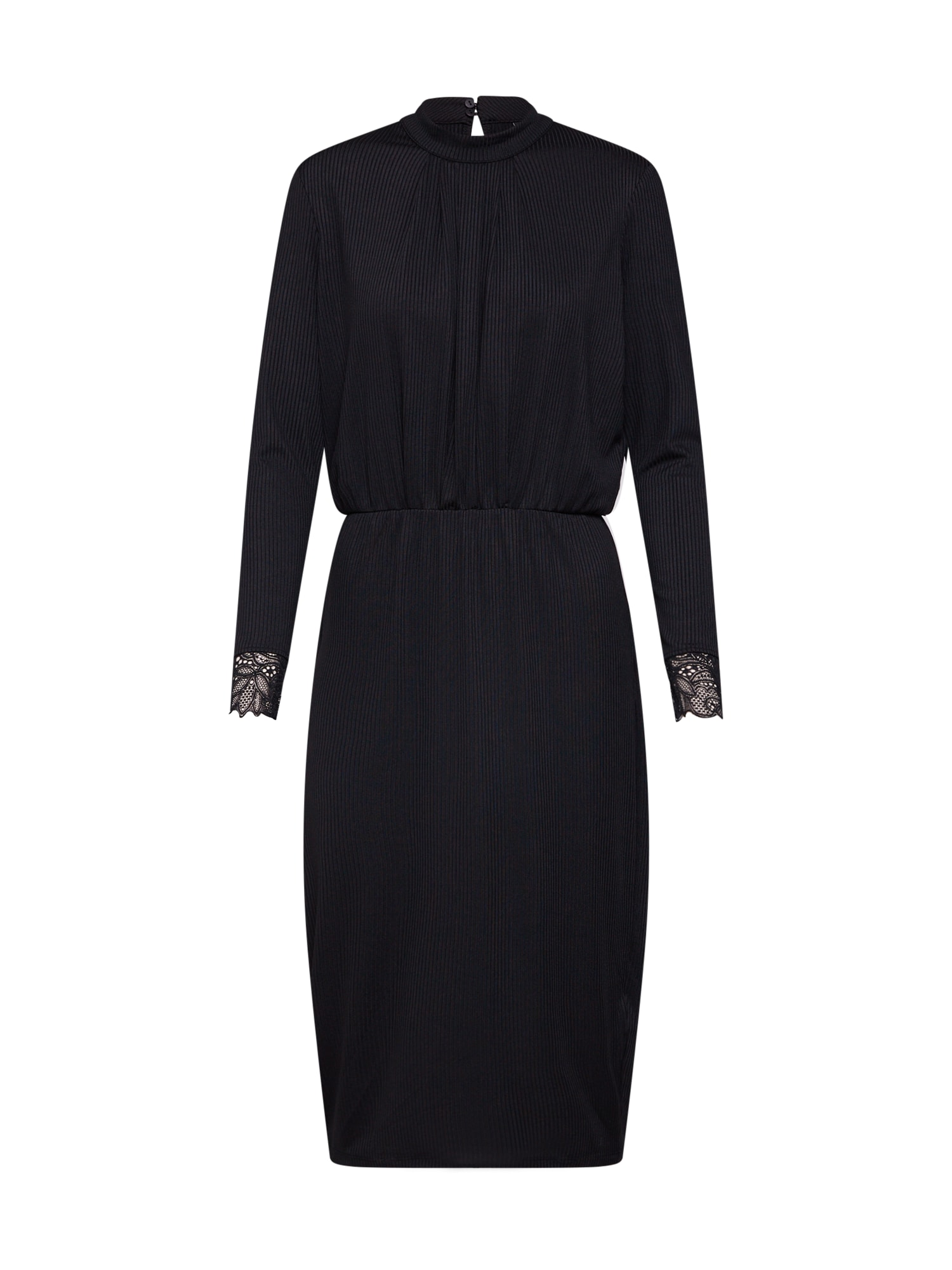 Šaty YASBLAX LS DRESS černá Y.A.S