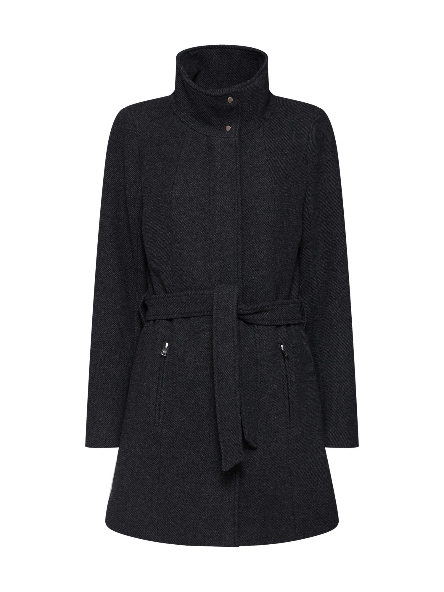 Zimní kabát CHRISTIE antracitová ONLY