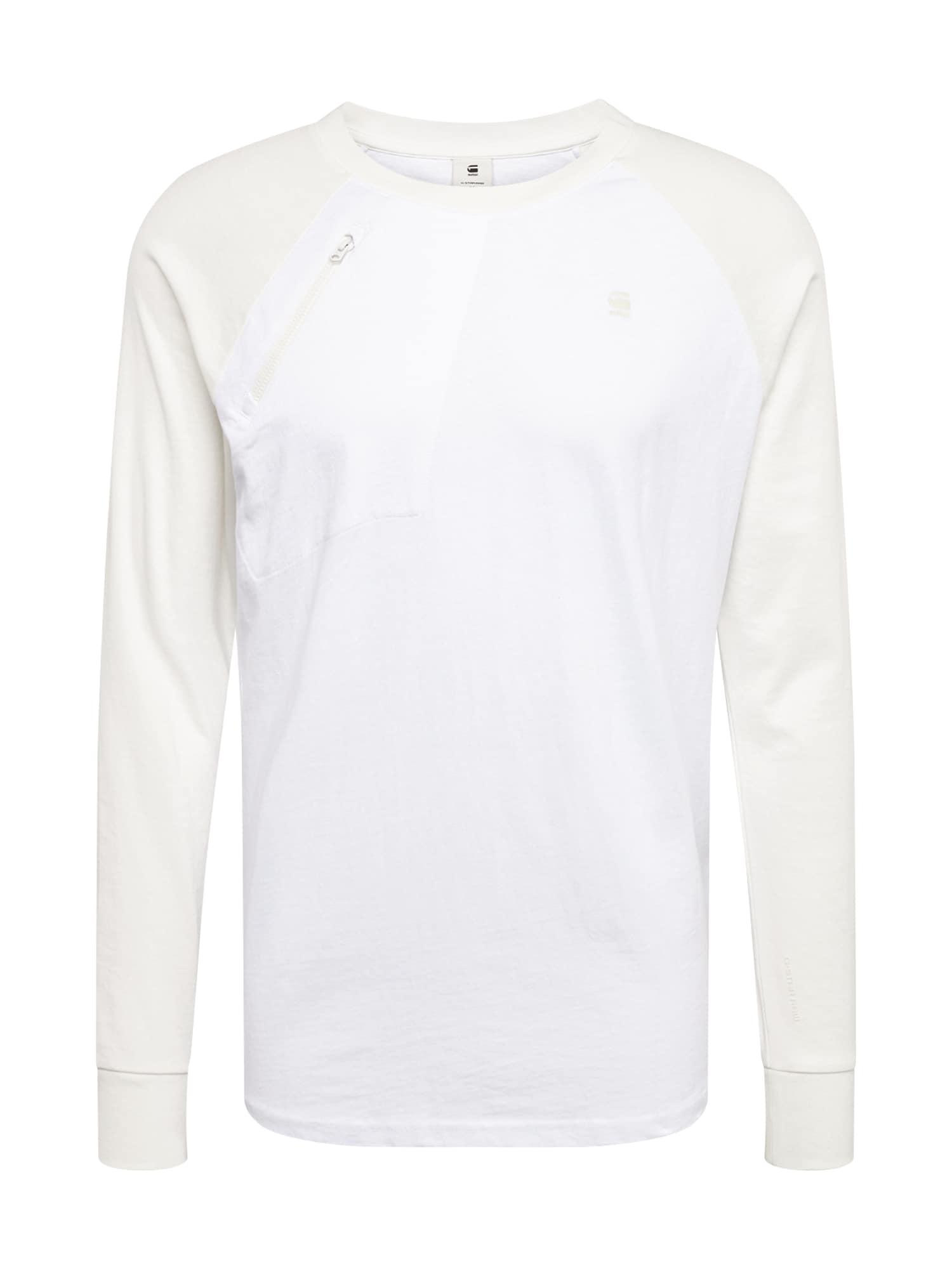 Tričko Ore raglan bílá G-STAR RAW