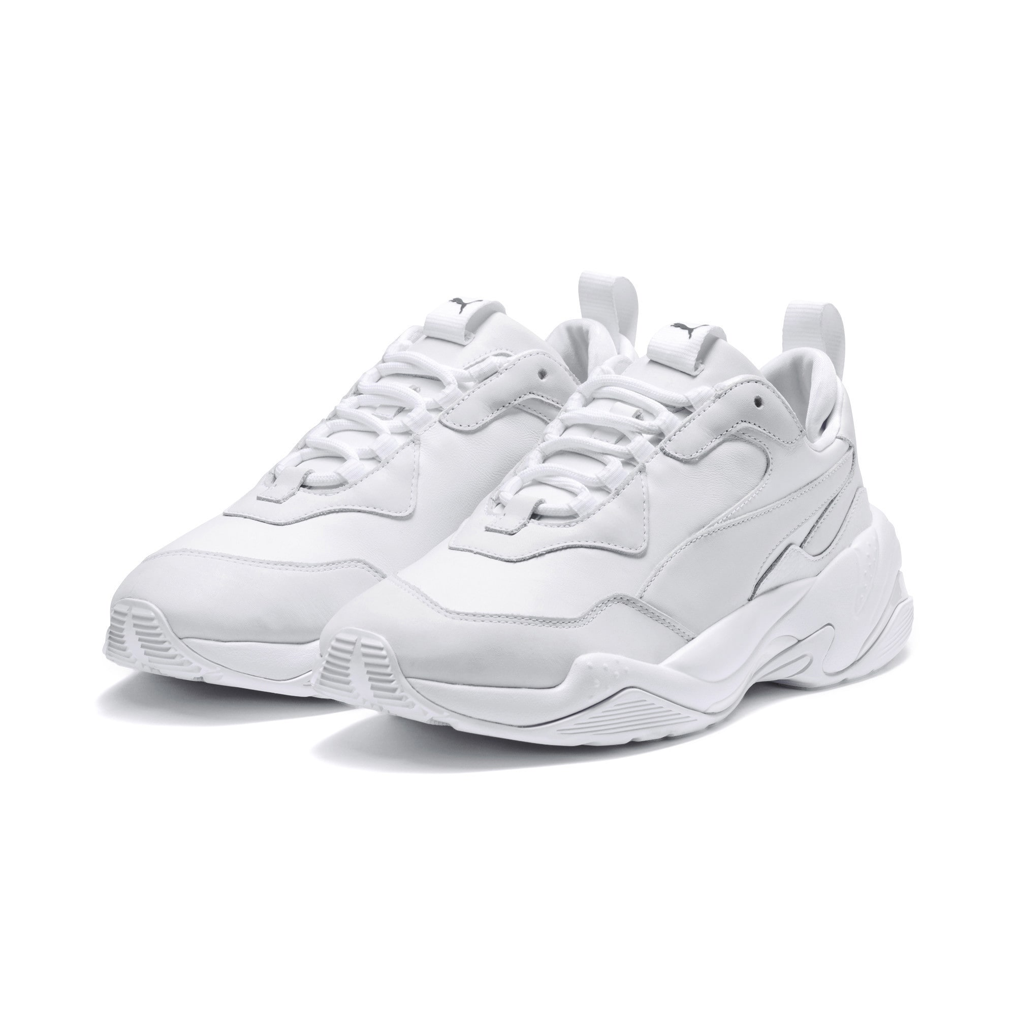 PUMA, Heren Sneakers laag 'Thunder', wit