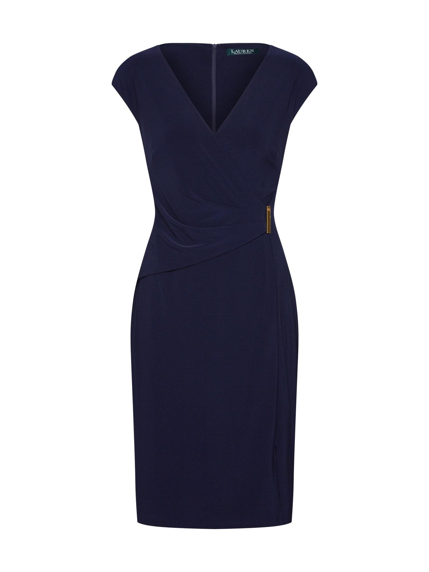 Pouzdrové šaty AIDEENA námořnická modř Lauren Ralph Lauren