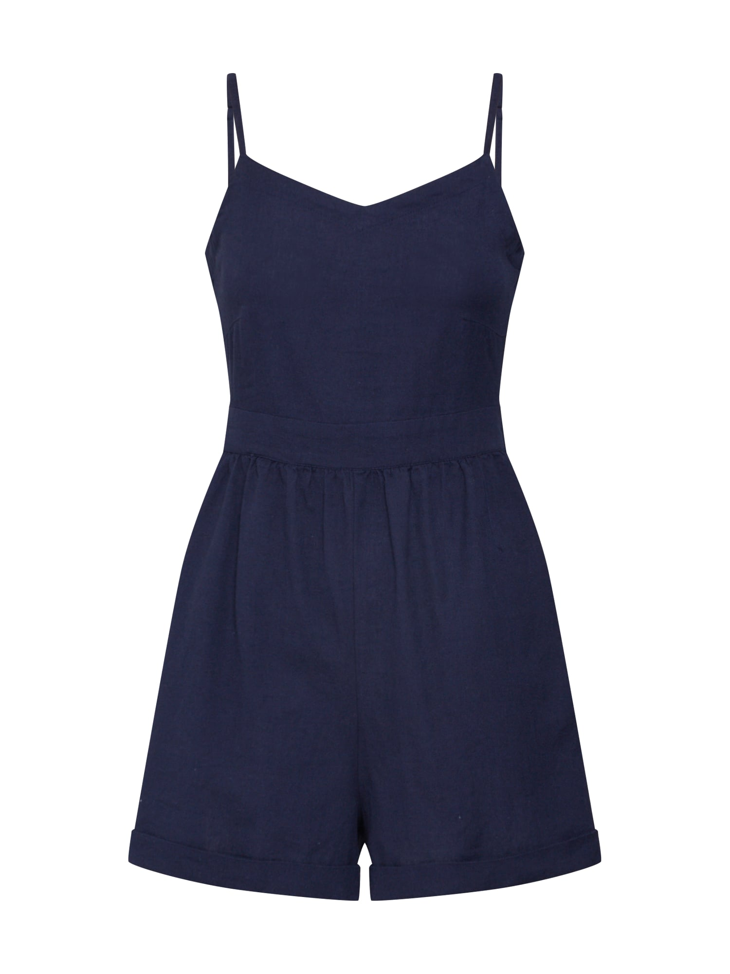 Overal BEATRIZ STRAP PLAYSUIT modrá OBJECT