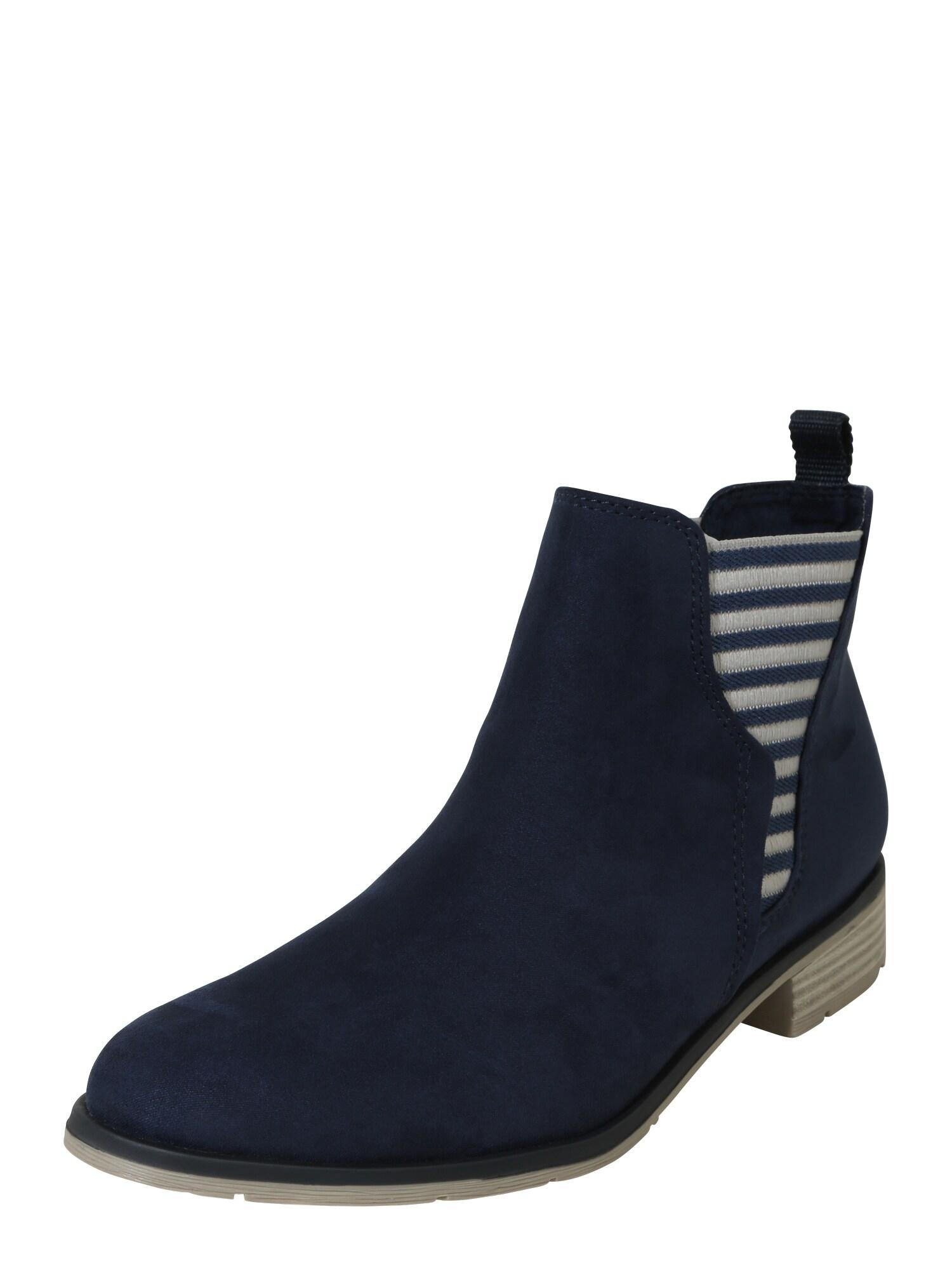 Chelsea boty námořnická modř MARCO TOZZI