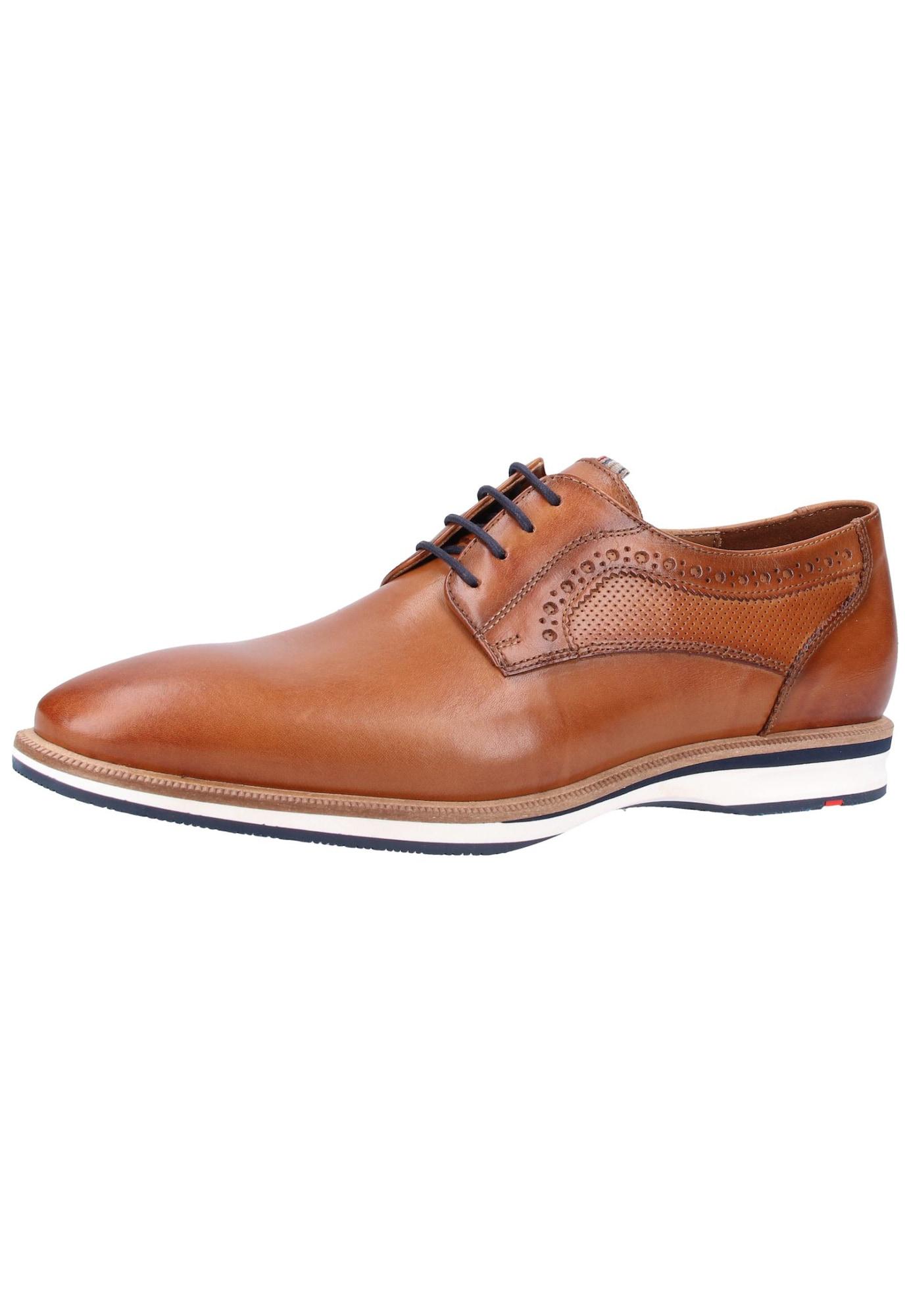 Šněrovací boty karamelová LLOYD