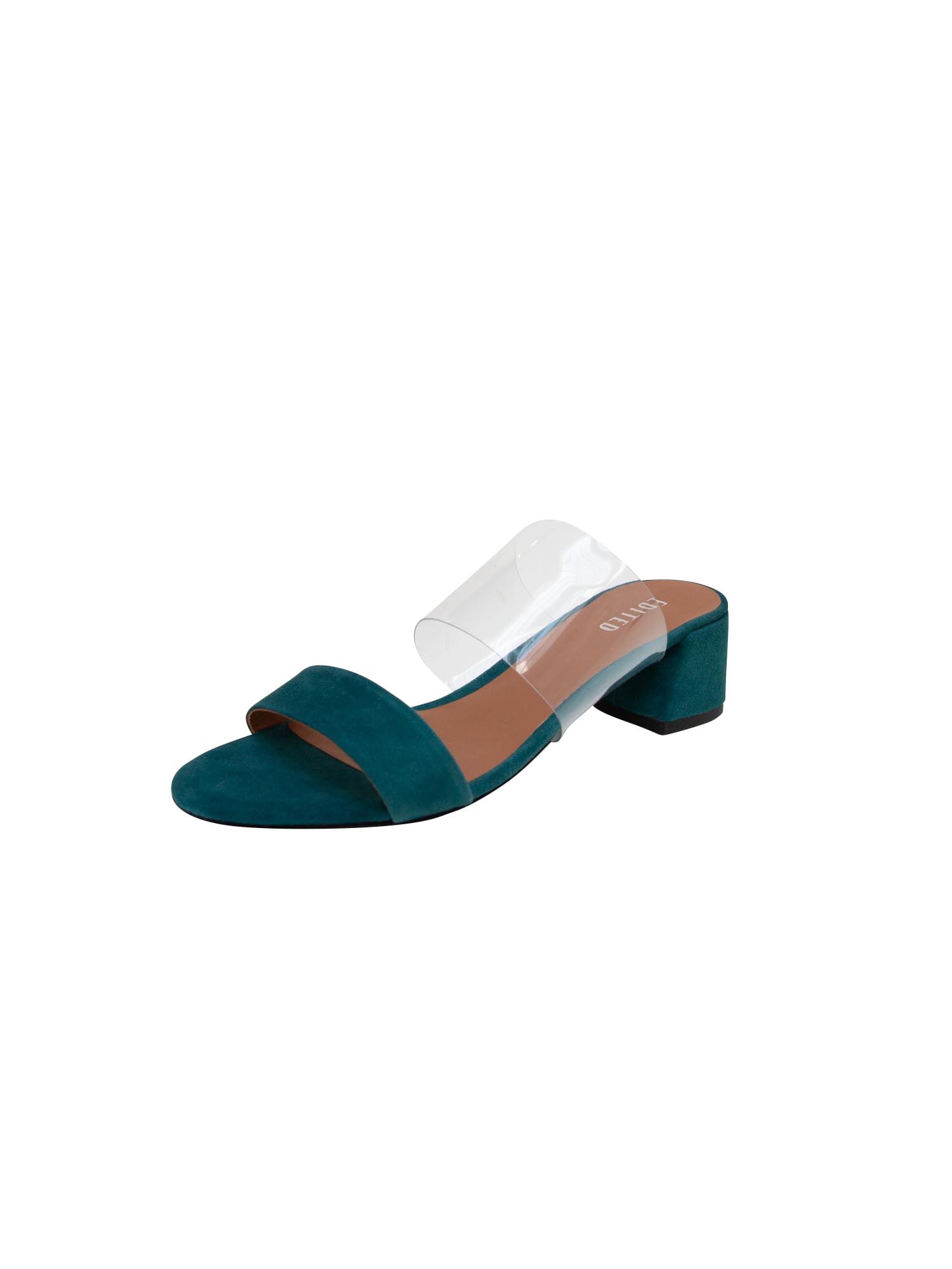 Pantofle Kaori zelená EDITED