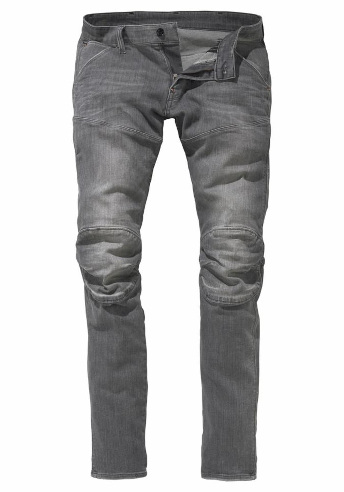 G-STAR RAW Heren Jeans 5620 Elwood 3D Super Slim grey denim