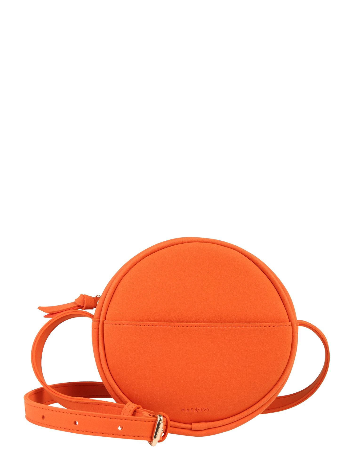 Taška přes rameno Mila oranžová Mae & Ivy