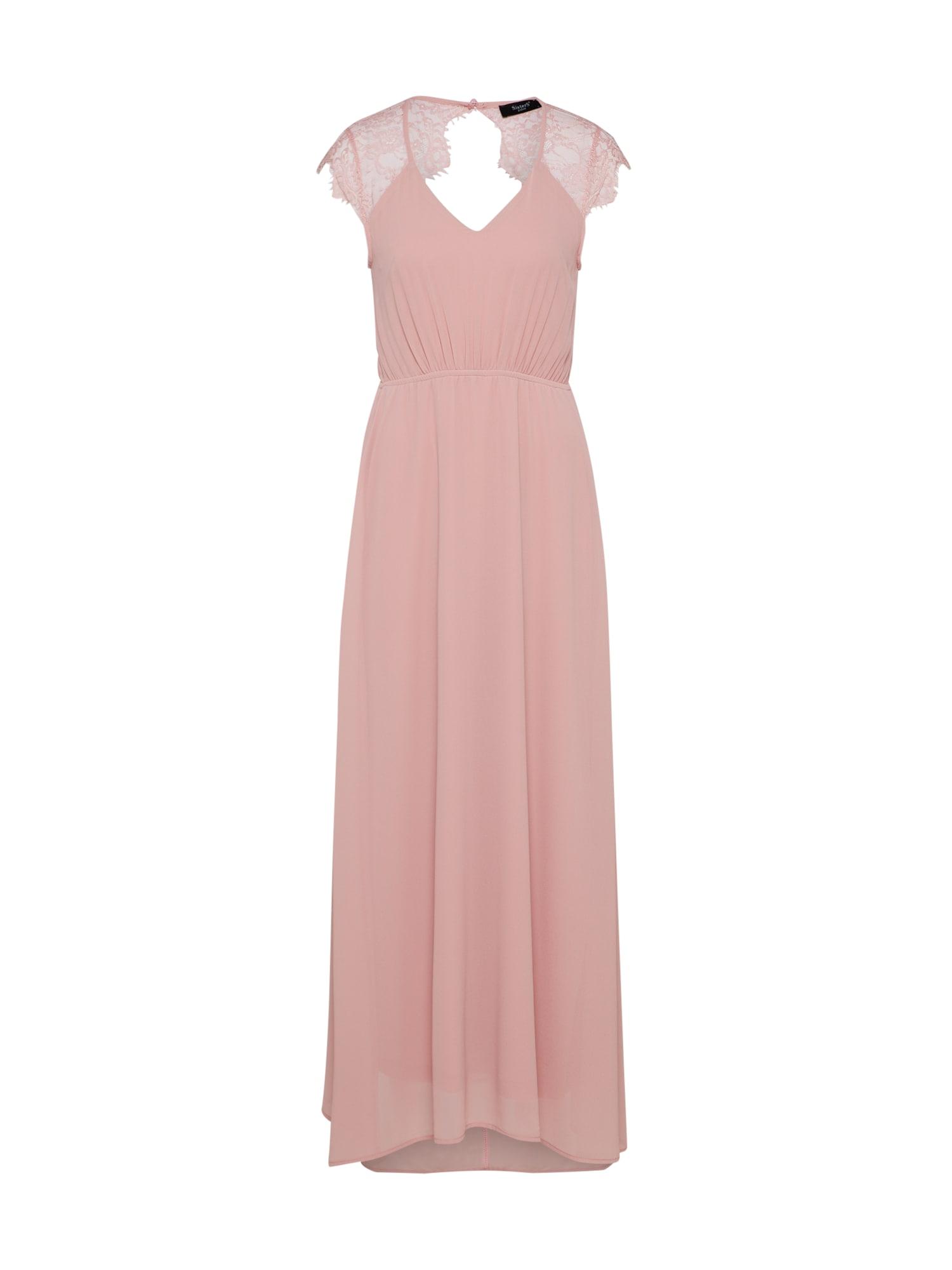 Společenské šaty GIMLE růžová SISTERS POINT