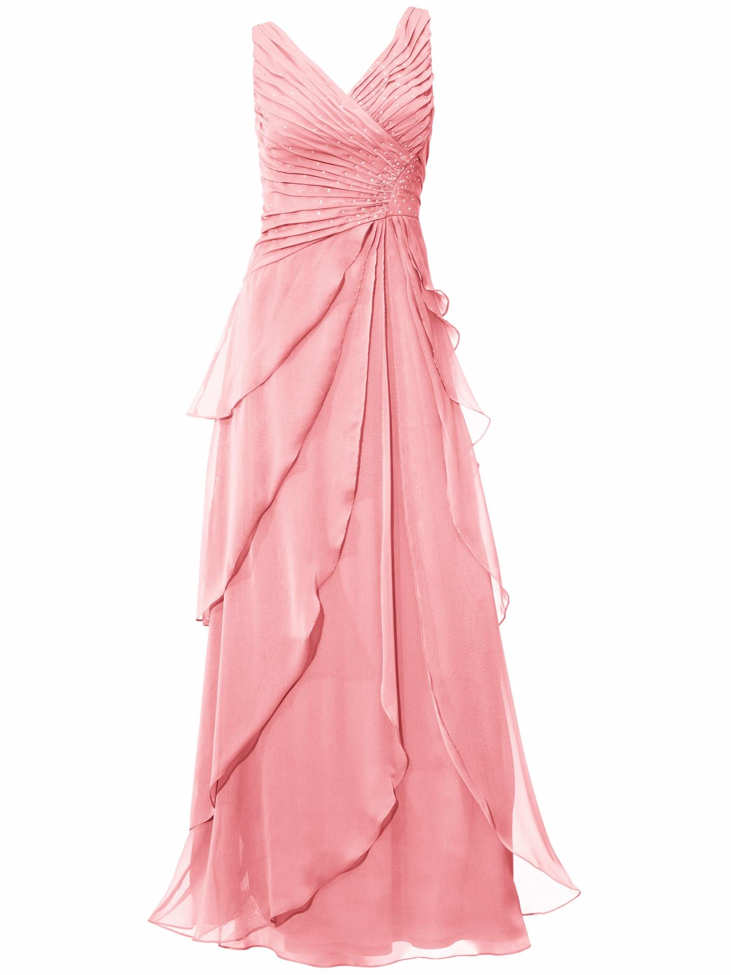 Společenské šaty růže Heine