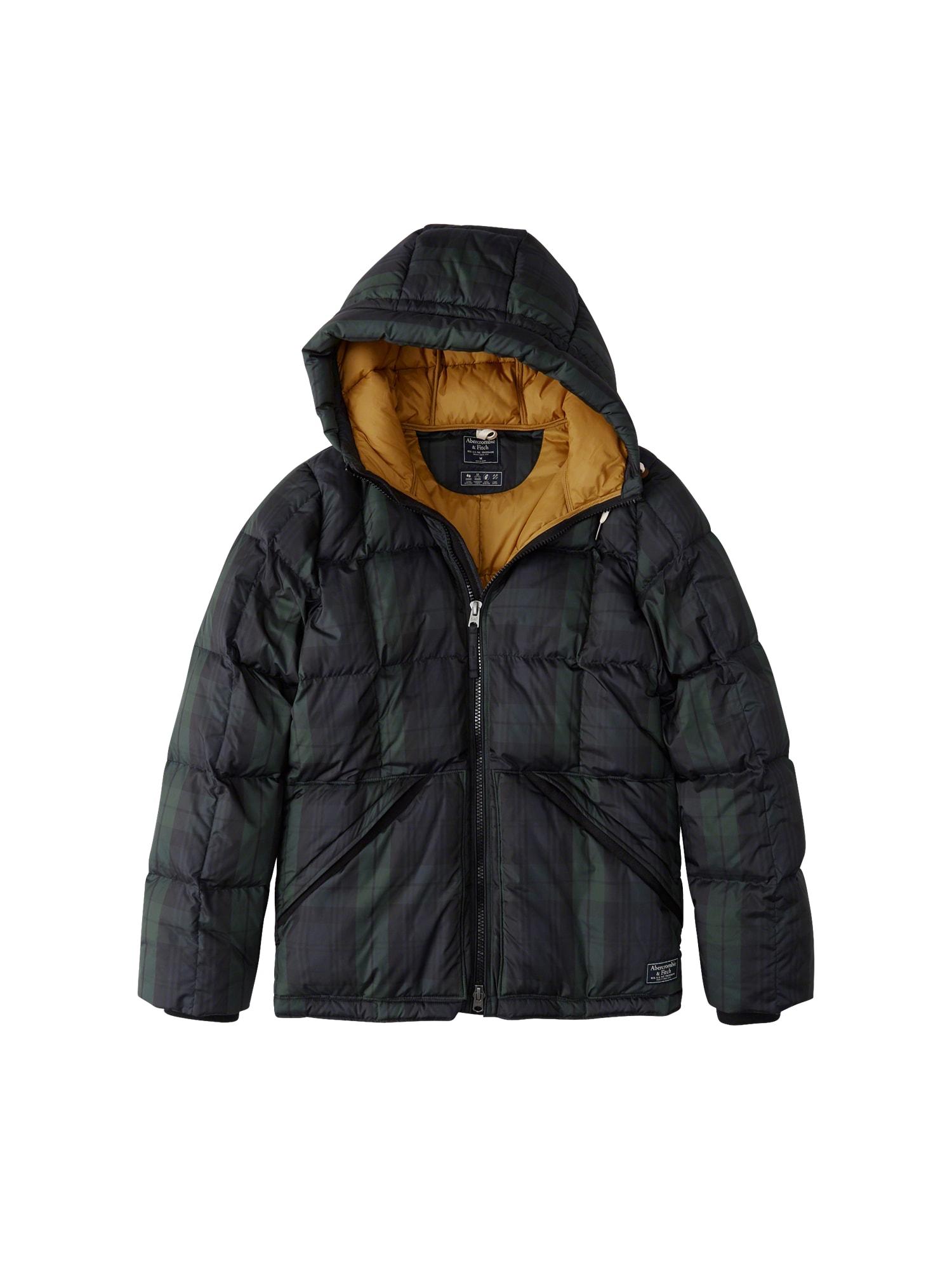 Zimní bunda CORE PUFFER T1T4 1CC černá Abercrombie & Fitch