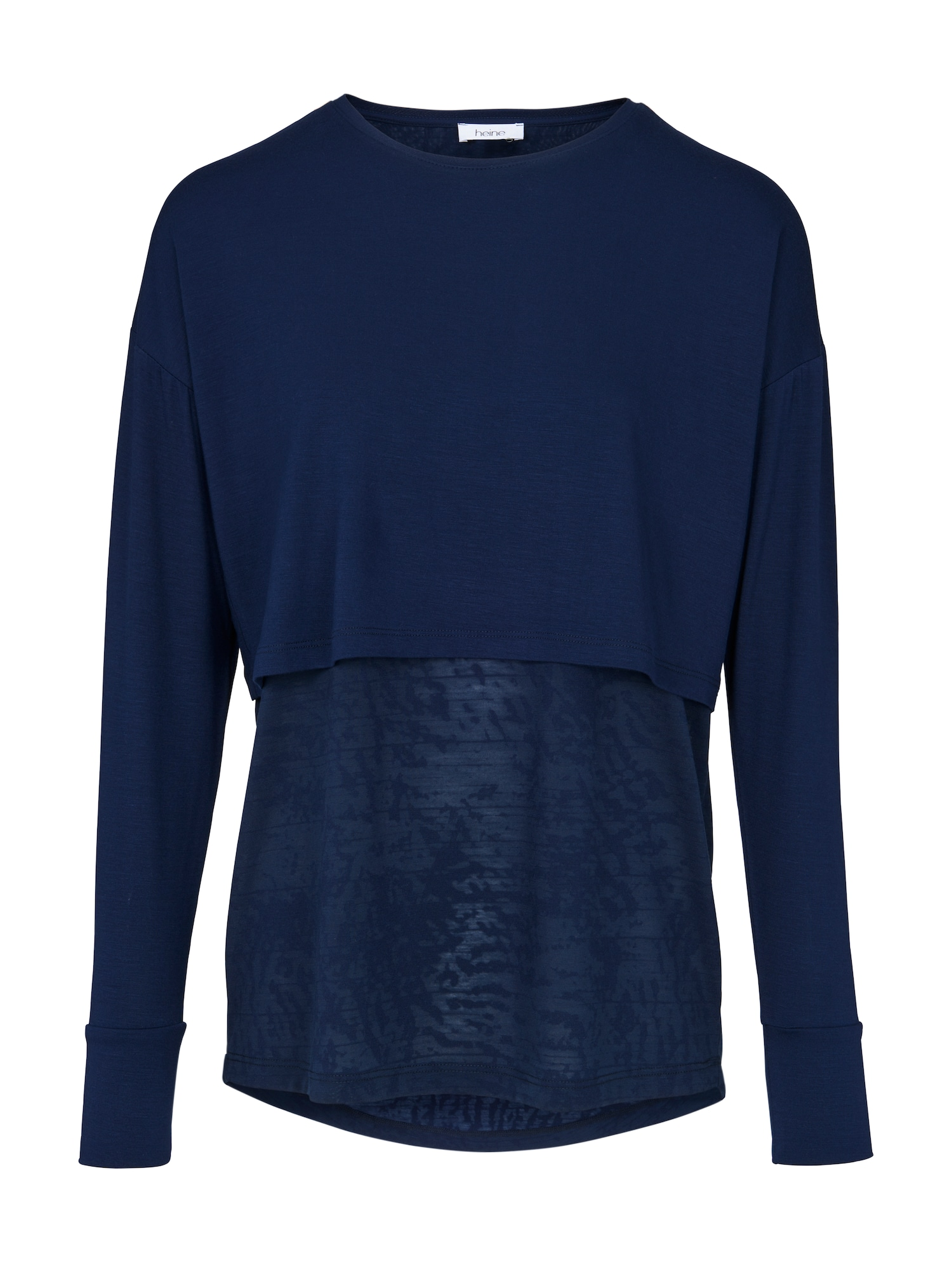 Tričko tmavě modrá Heine