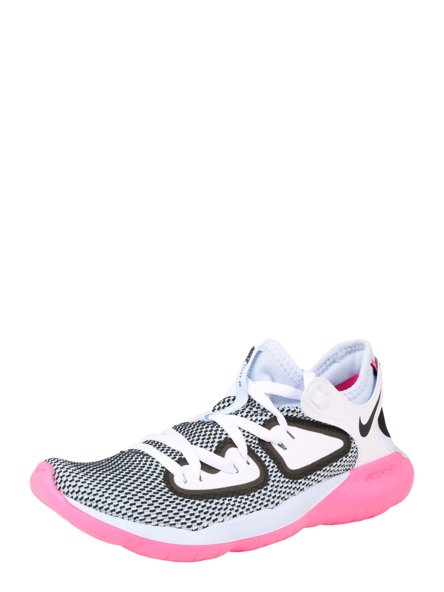 Sportovní boty Nike Flex 2019 RN modrá pink NIKE