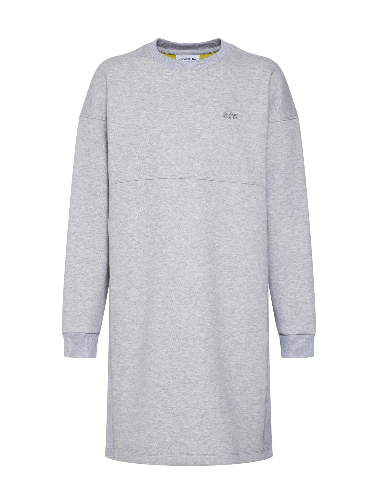 Šaty ROBE šedý melír LACOSTE