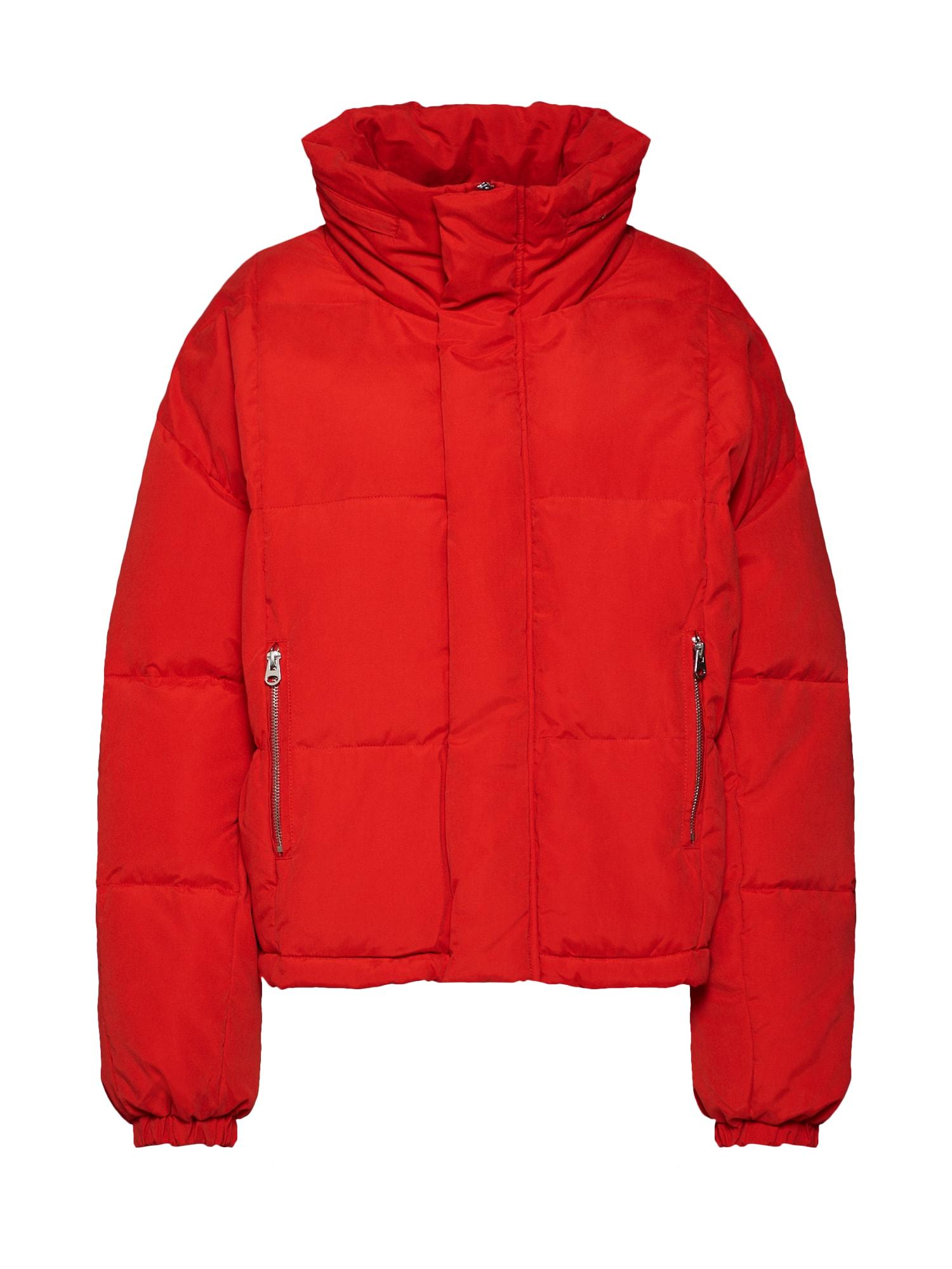 Zimní bunda oranžově červená RINO & PELLE