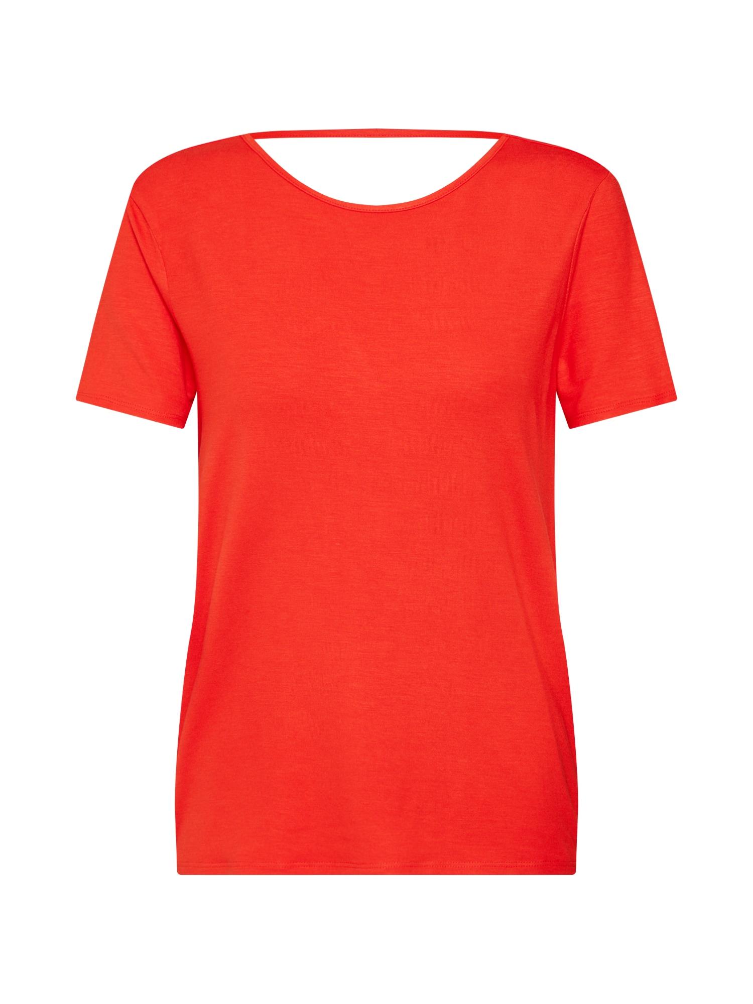 Tričko BEHANNA ohnivá červená Noisy May