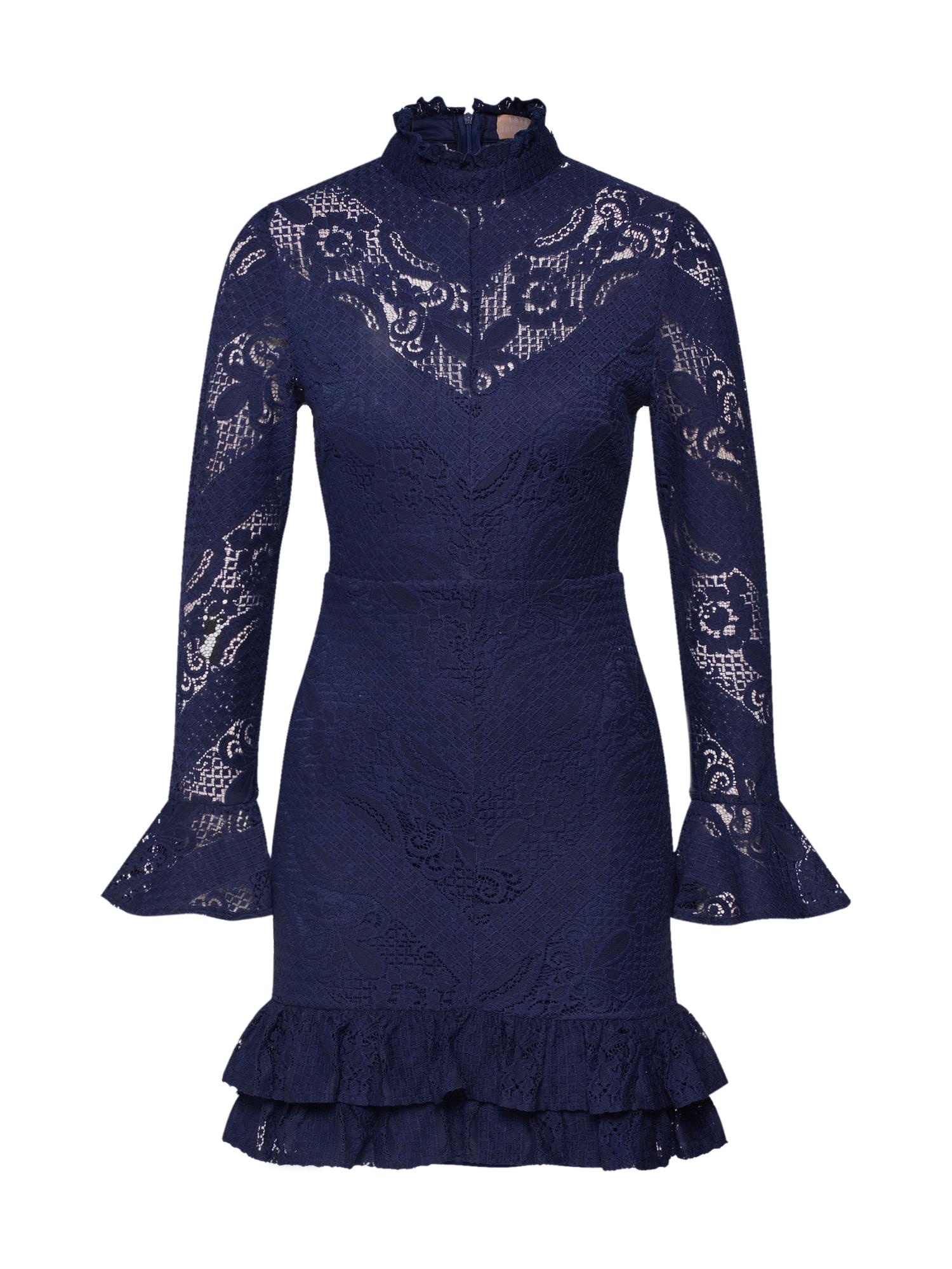 Love Triangle Koktejlové šaty 'Minuet Dress'  námořnická modř