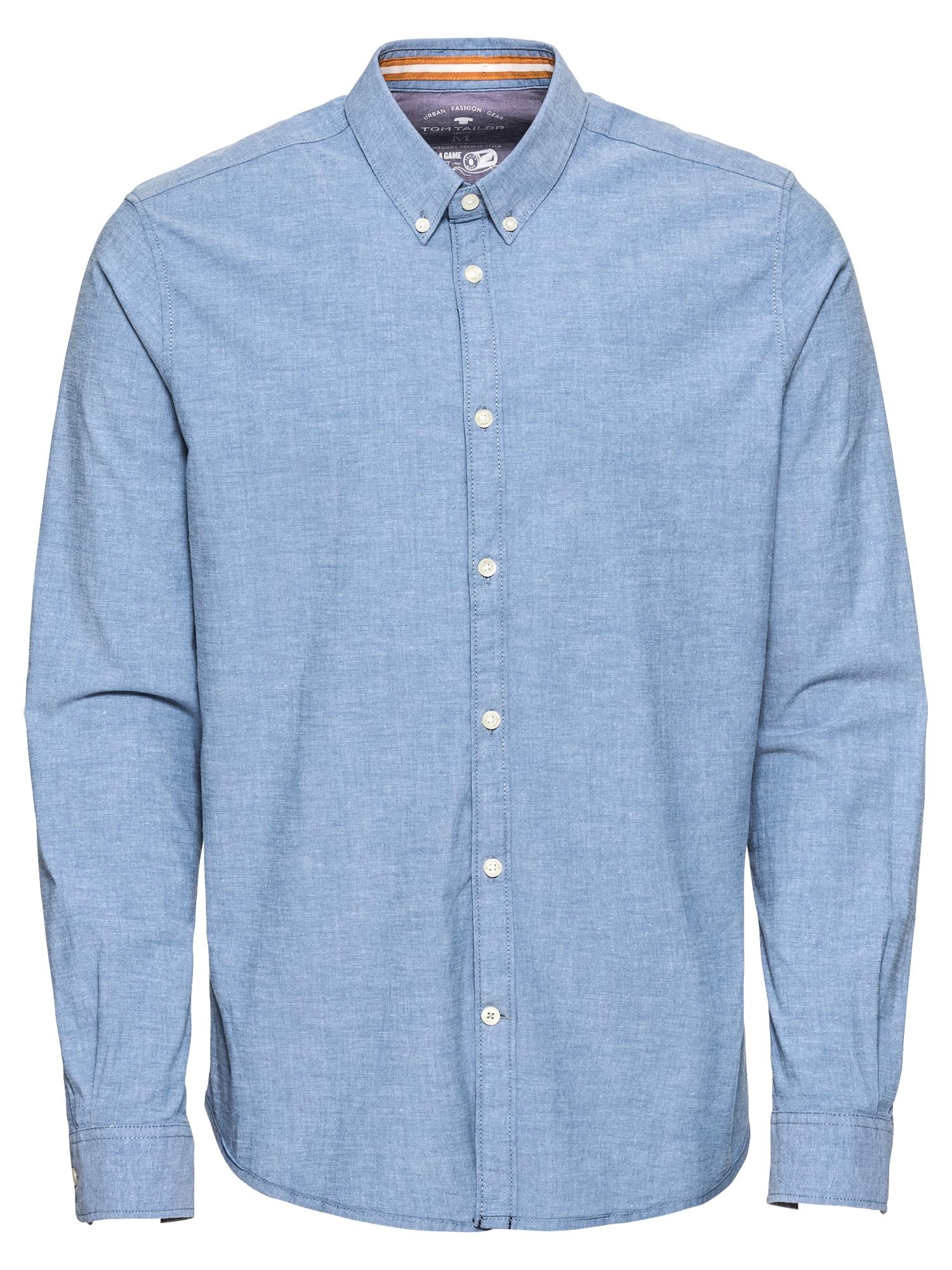 Košile  nebeská modř TOM TAILOR