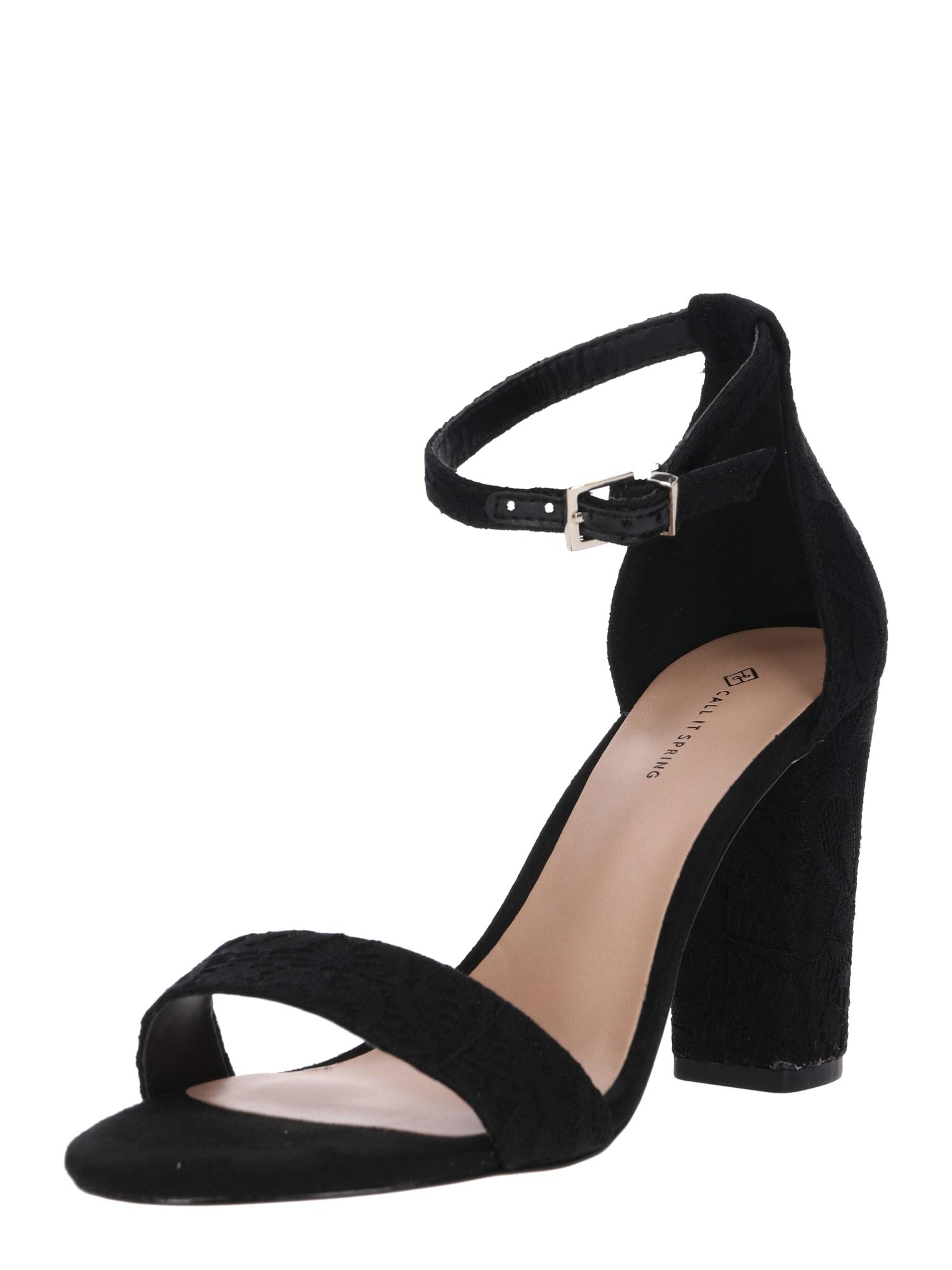 CALL IT SPRING Remienkové sandále 'LOREG'  čierna